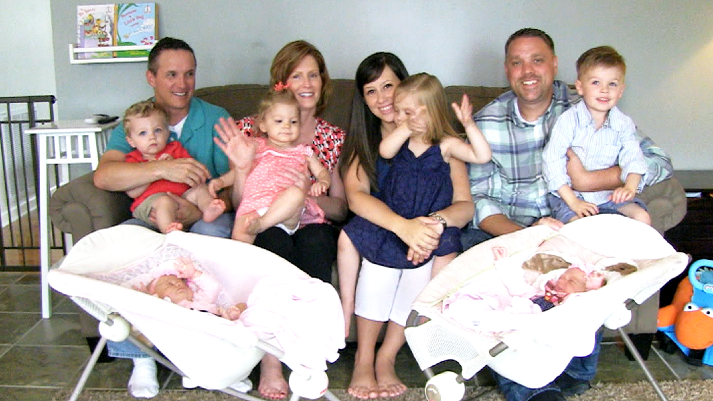 mom gives birth to 3 sets of twins in 5 year period