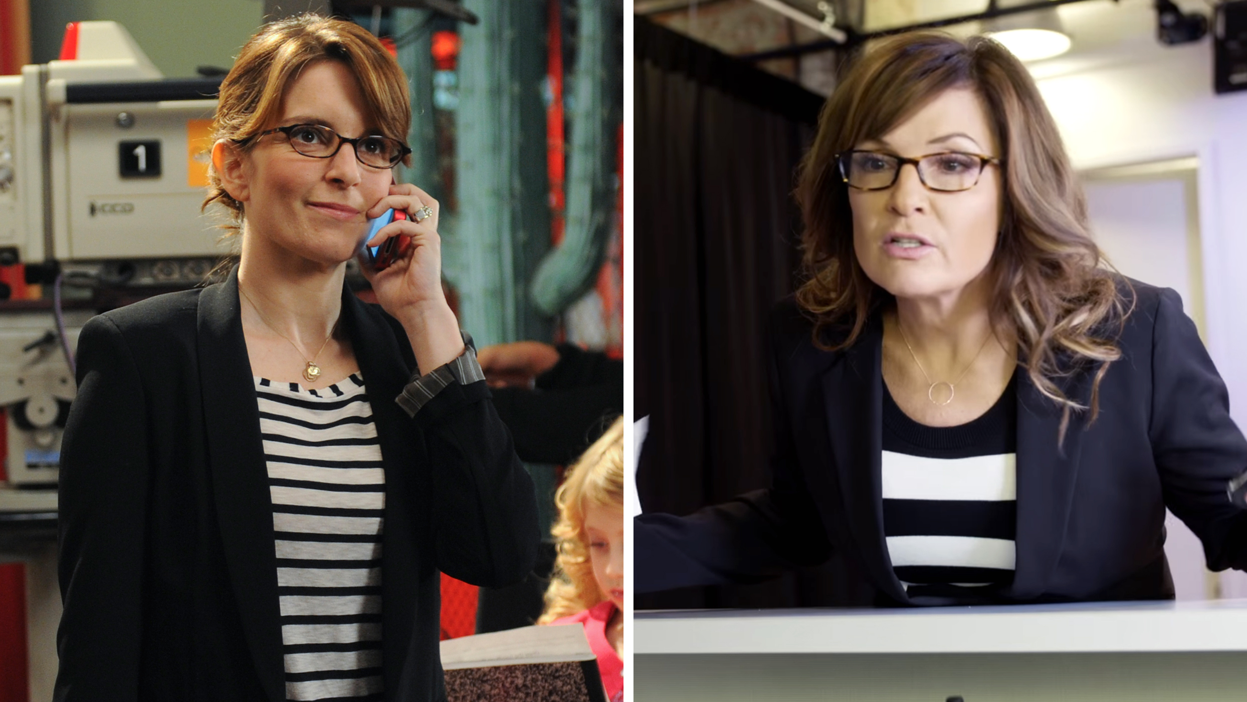 sarah palin takes  tina fey   turn  tables   rock spoof todaycom