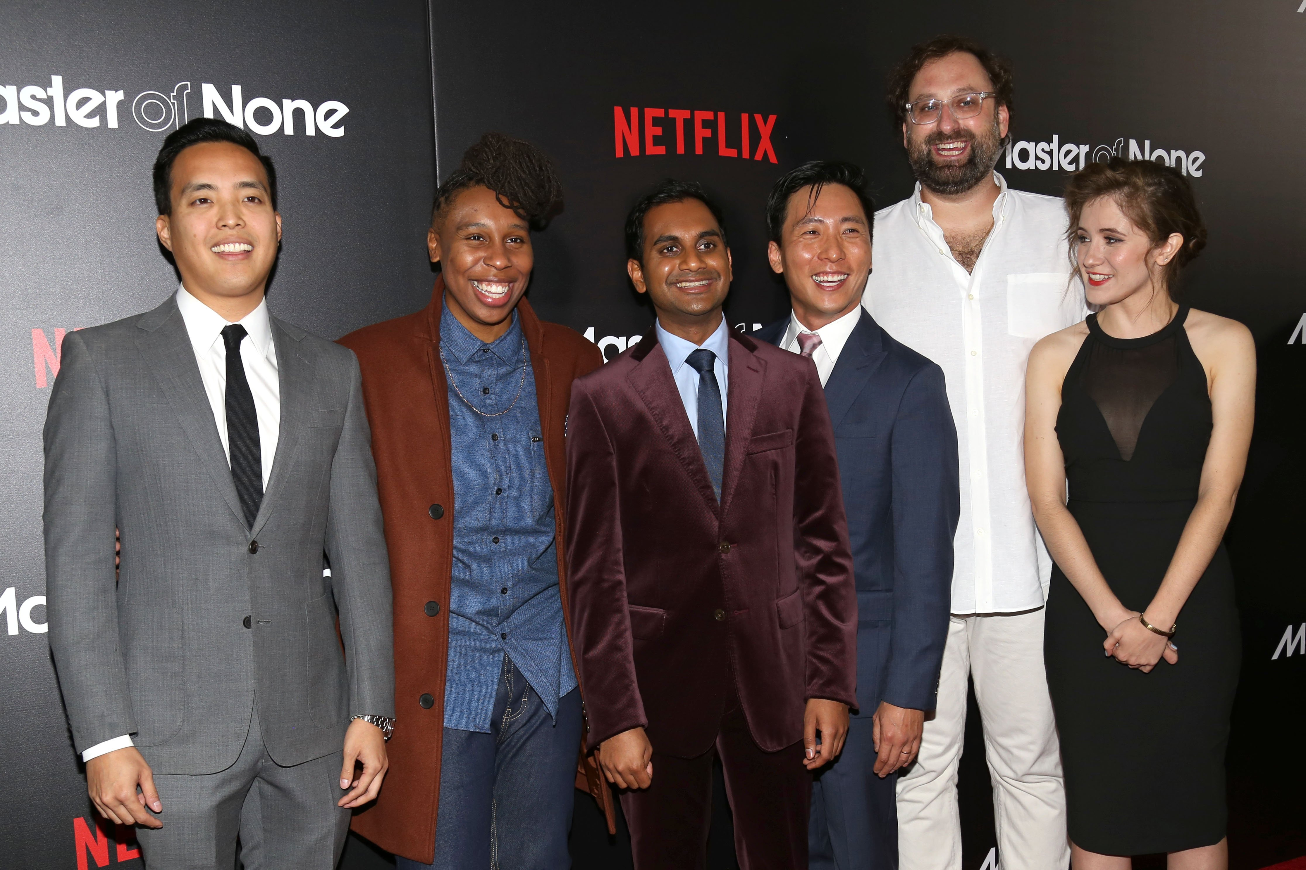 Image: Alan Yang, Lena Waithe, Aziz Ansari, Kelvin Lu, Eric Wareheim, Noel Wells
