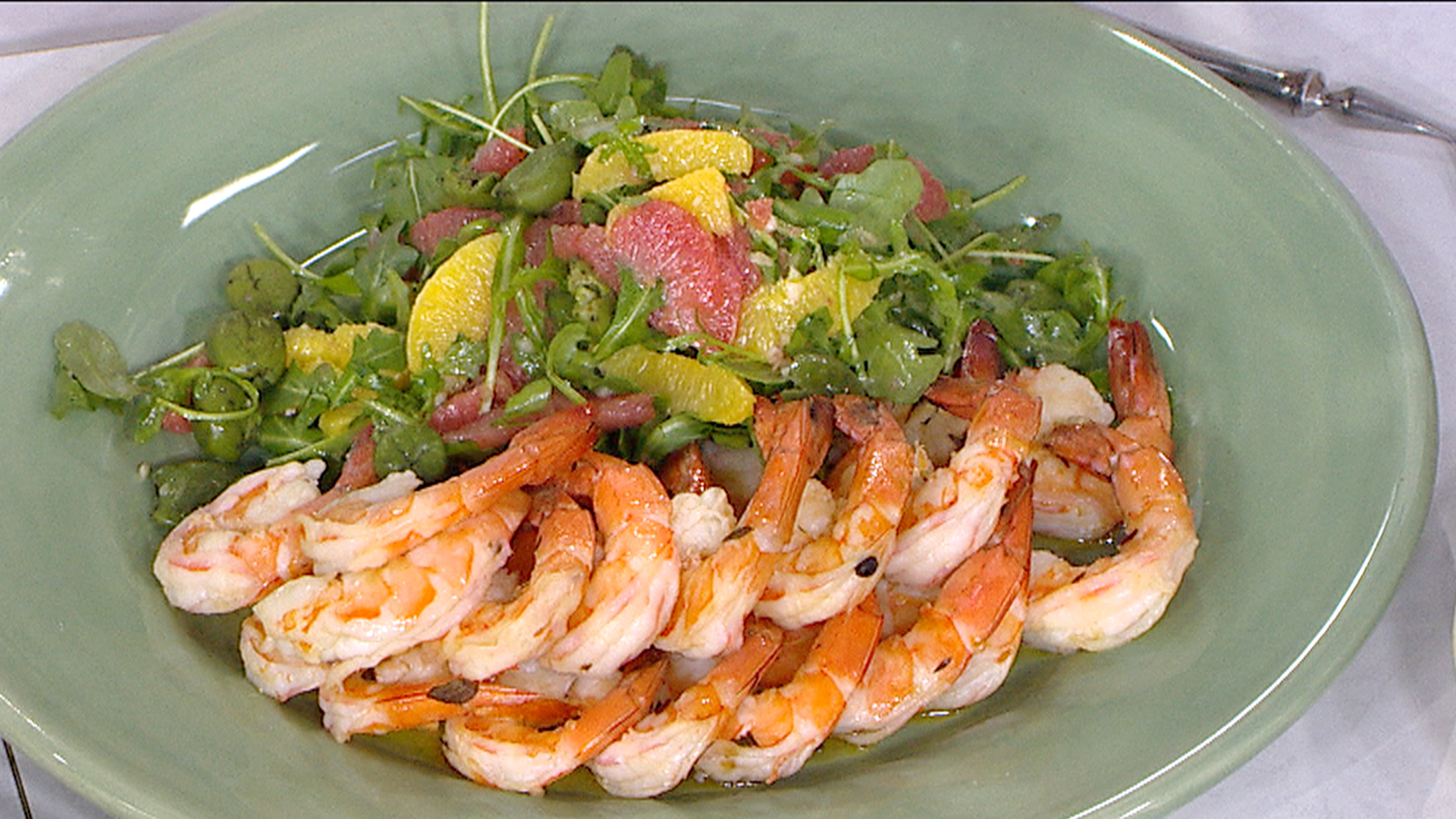 Shrimp And Cucumber Salad With Horseradish Mayo Recipe ...