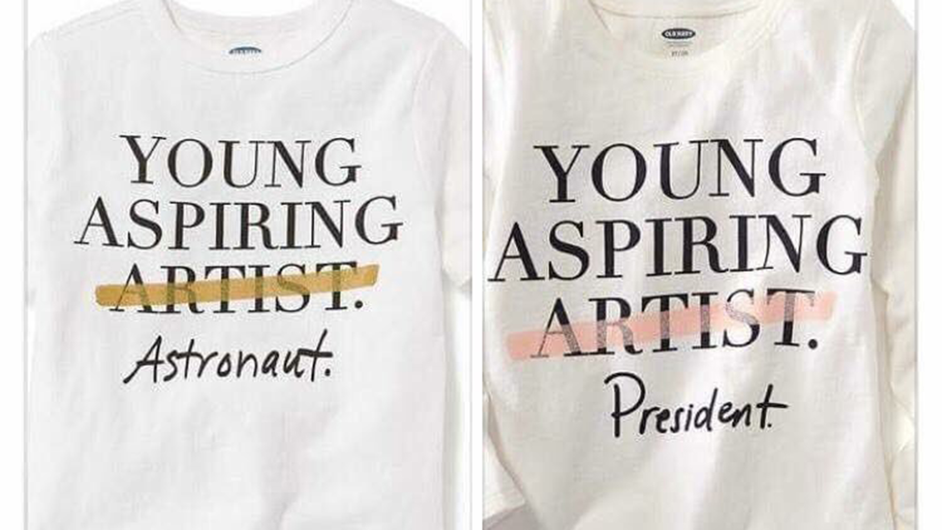 Old Navy\'s Anti-Artist Apparel
