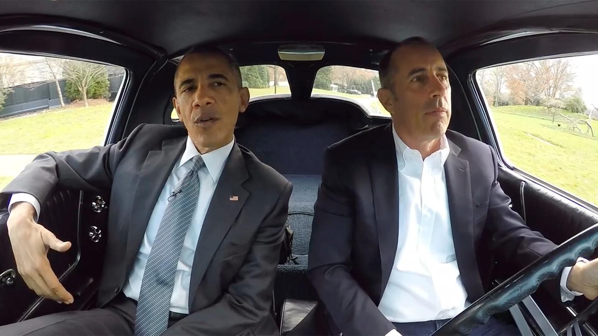 Commedians In Cars: President Obama, Jerry Seinfeld Talk Underwear, World