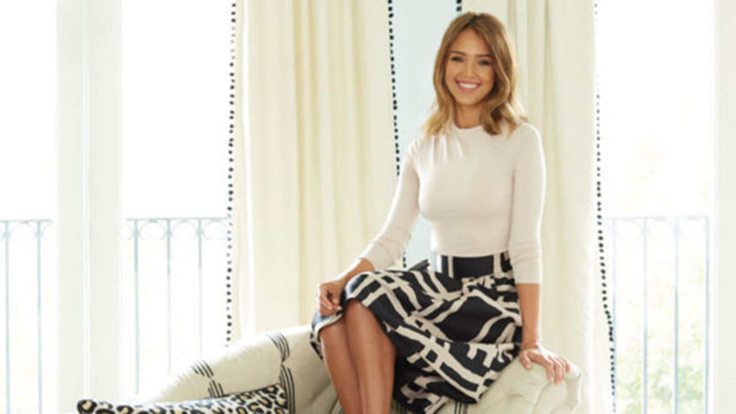 Jessica Alba Reveals Her Daughters Whimsical Bedroom