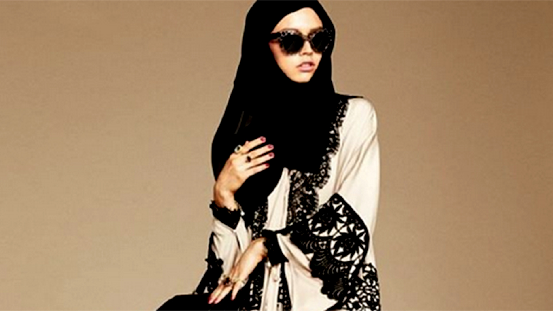 Dolce & Gabbana launches hijab and abaya line, tapping ...