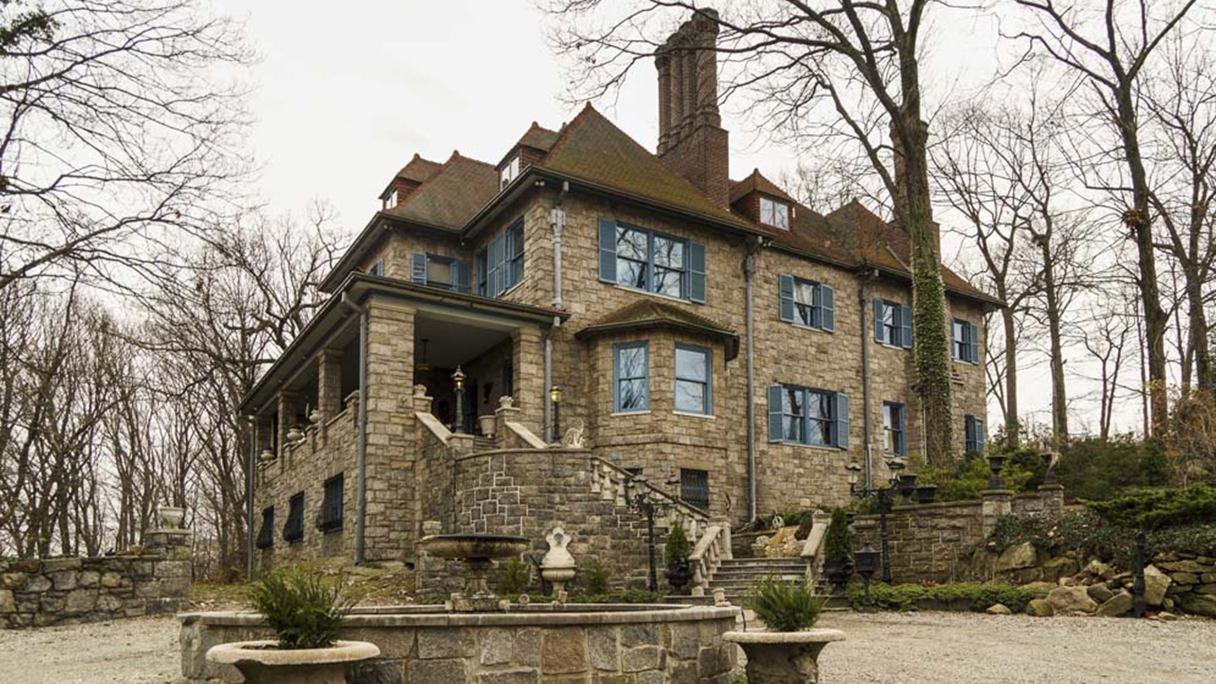 House built for jesus in the bronx is now for sale for Castle mansions for sale