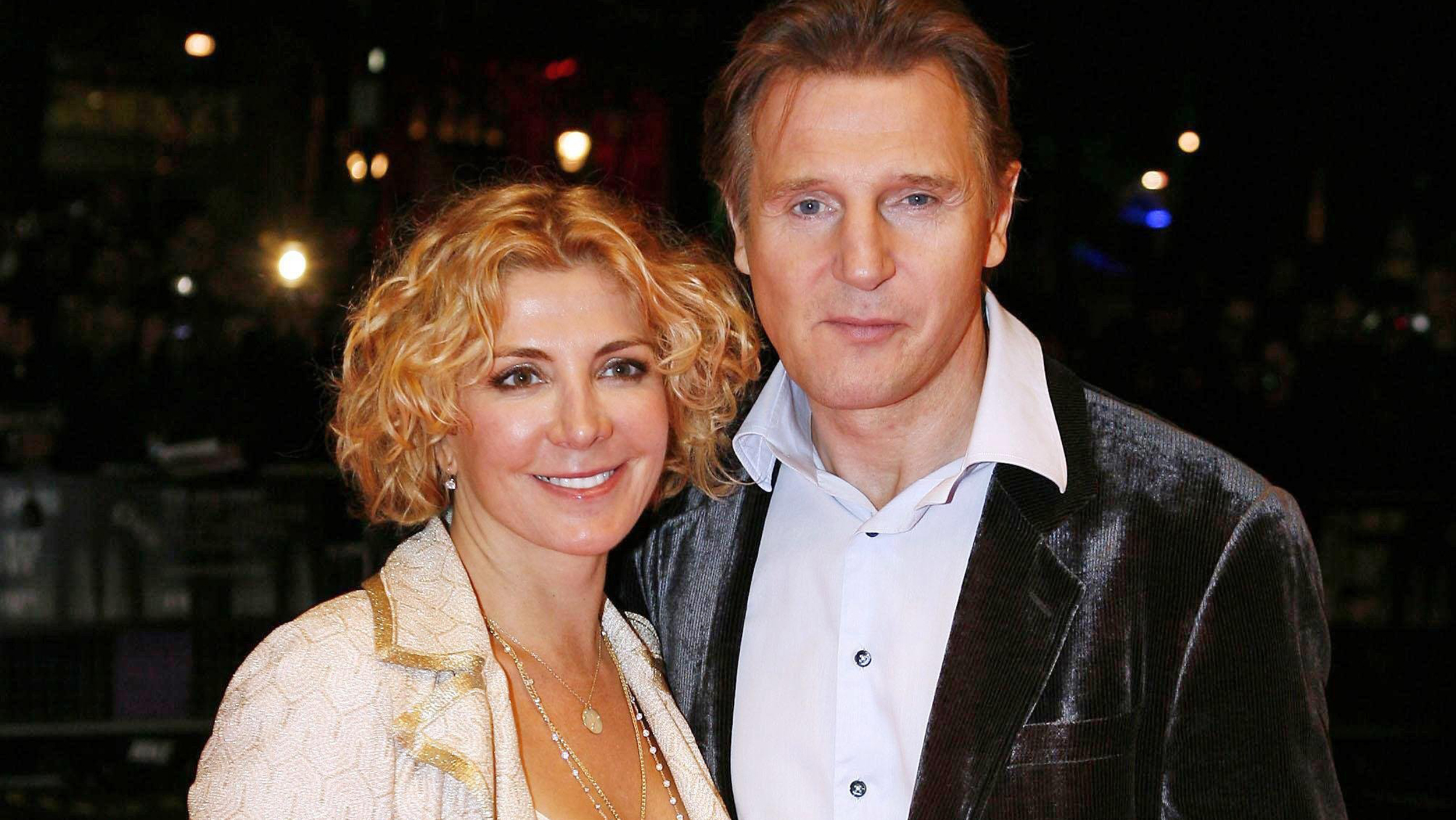 Liam neeson opens up about late wife natasha richardson 39 s for Natasha richardson and liam neeson
