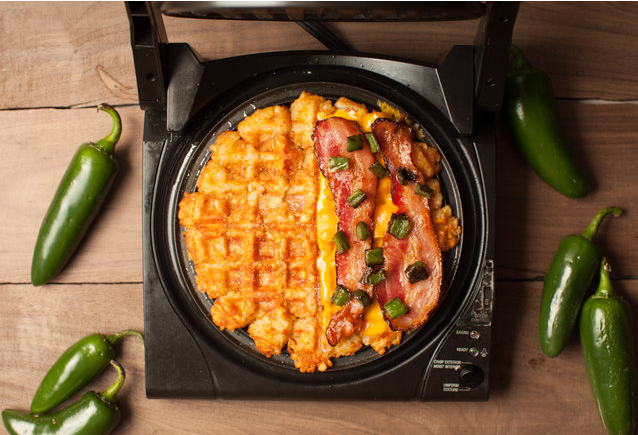 6 Surprising Foods You Can Take To The Next Level With A Waffle Iron