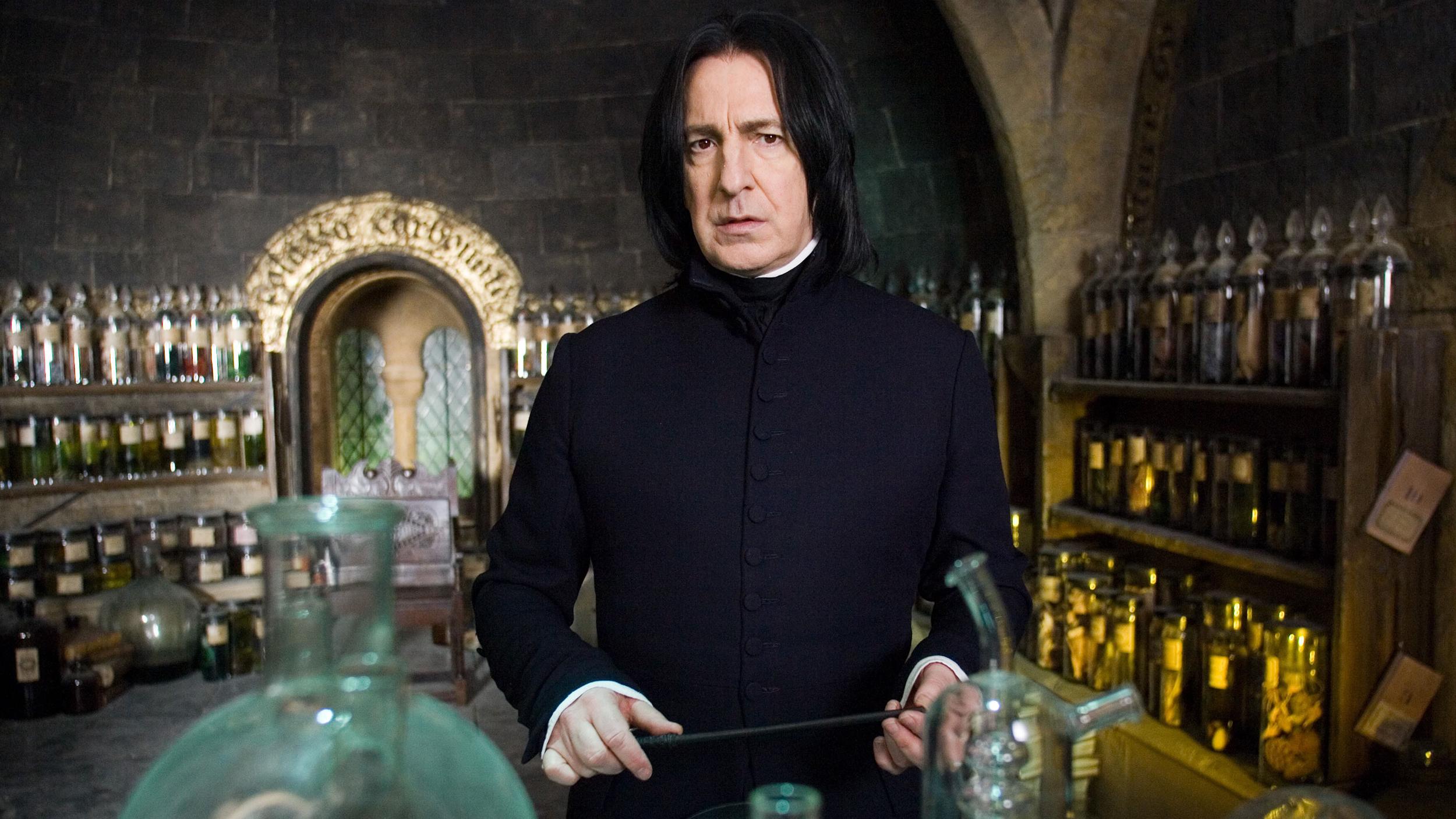 Severus snape orgasm denial