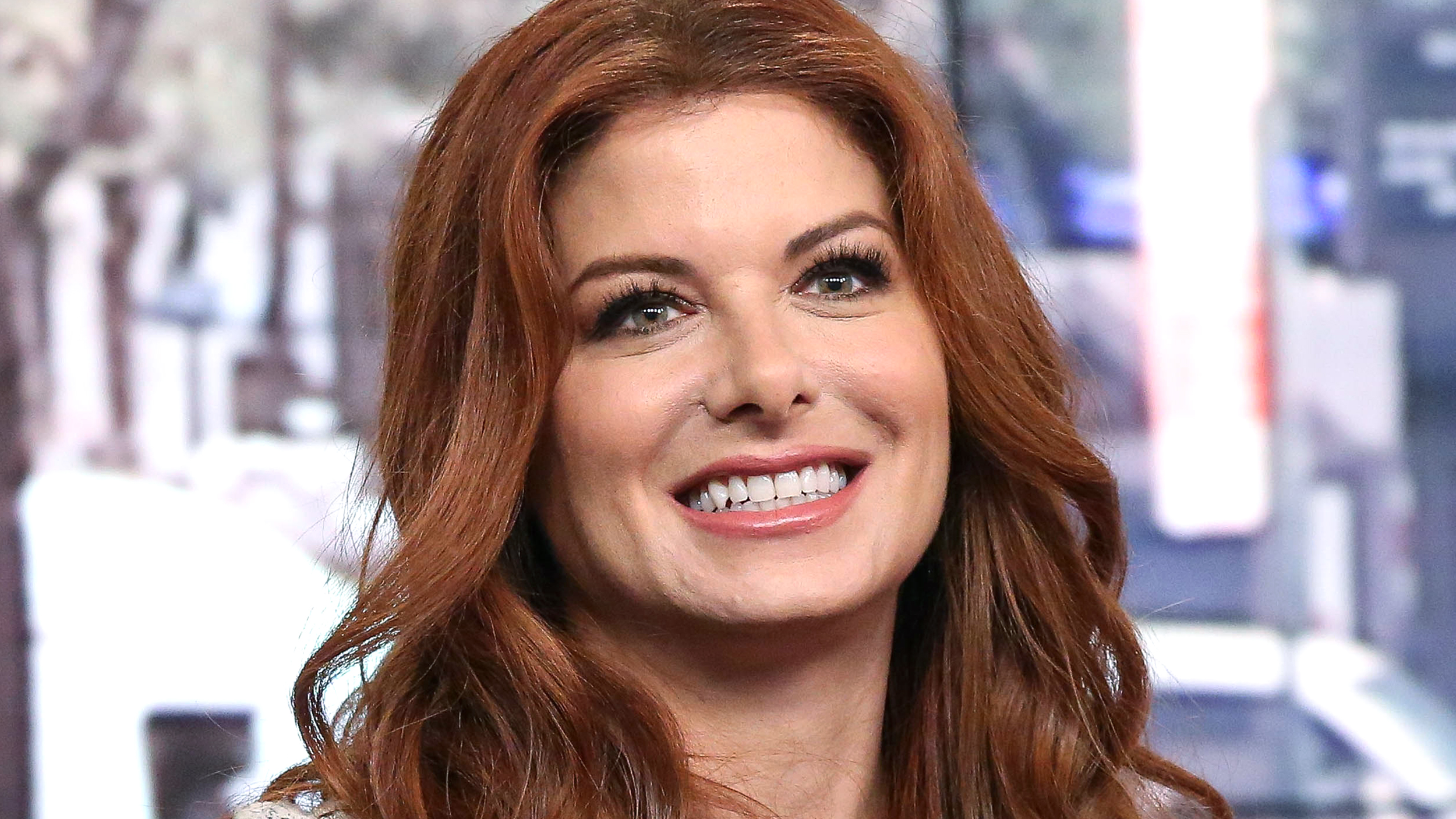 debra messing on the time a hollywood director told her to get a nose job. Black Bedroom Furniture Sets. Home Design Ideas