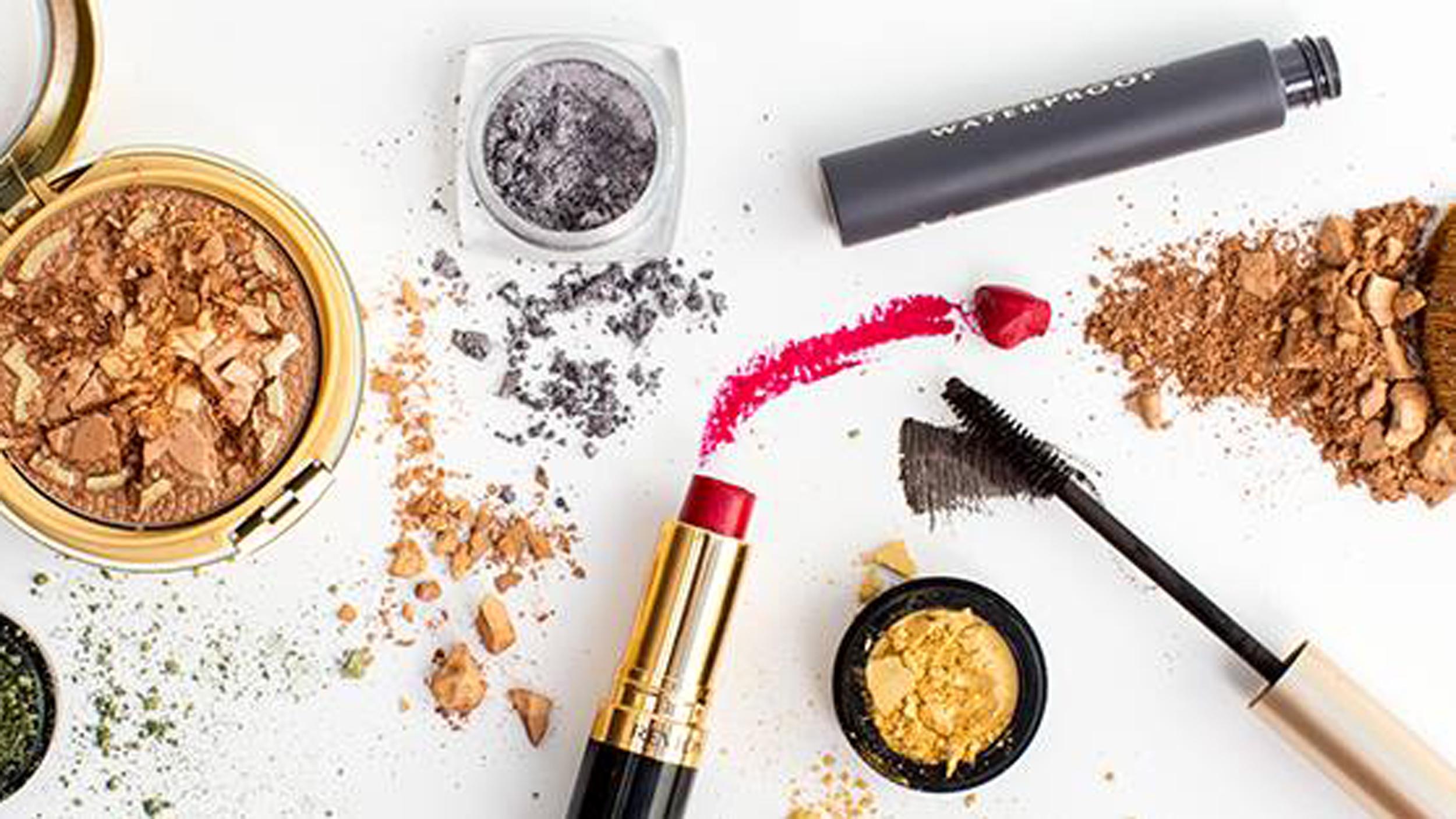 how to fix broken highlighter makeup