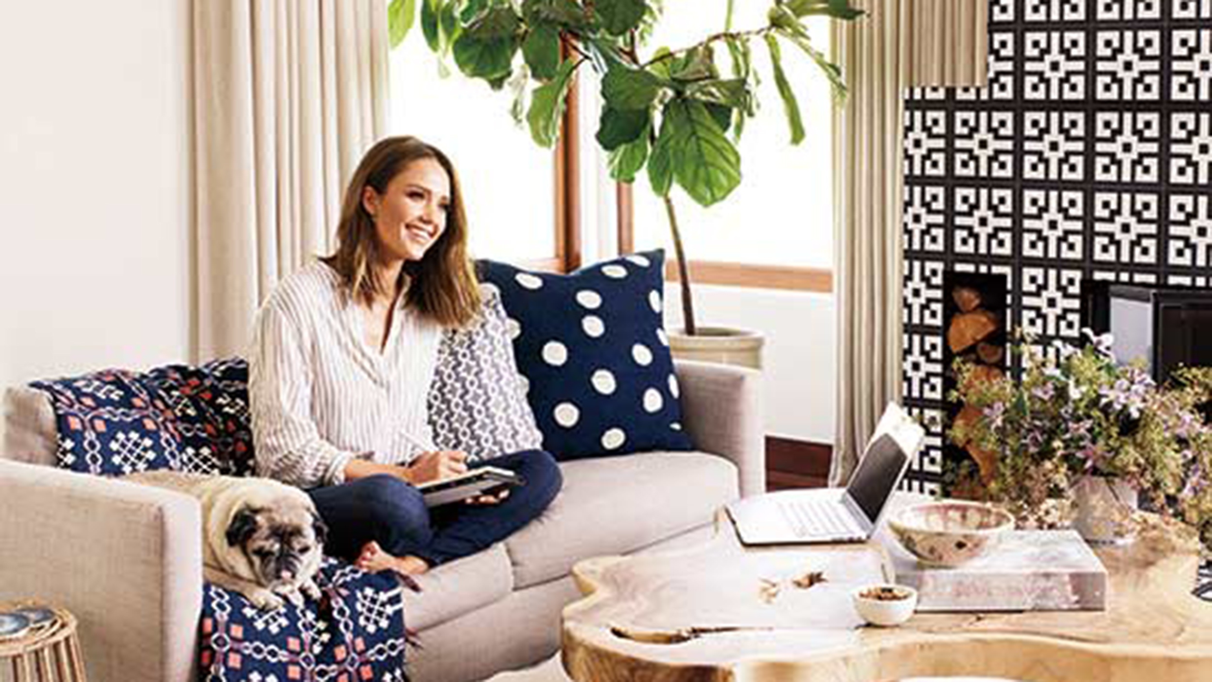 Jessica Alba Gives Tour Of Her Los Angeles Home Check It