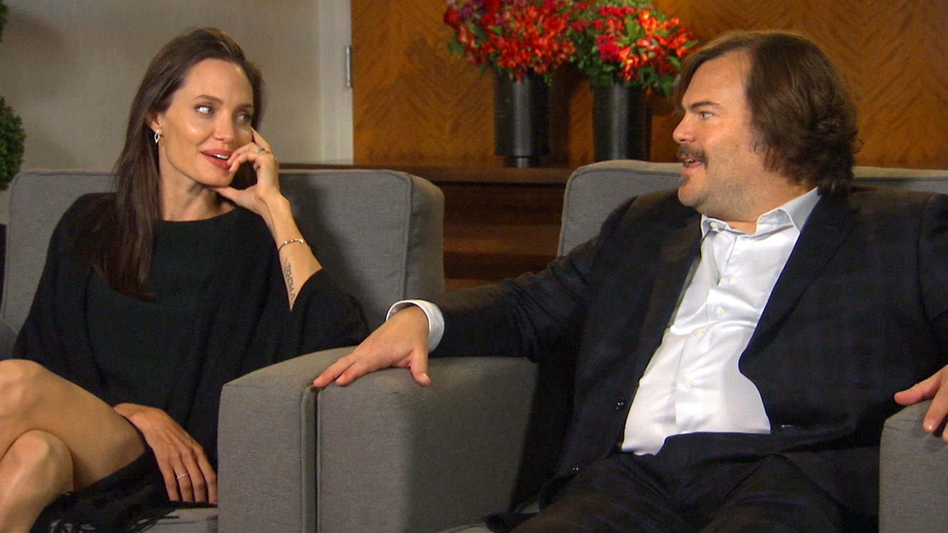 Angelina Jolie Jack Black Kung Fu Panda 3 Is A Family Affair