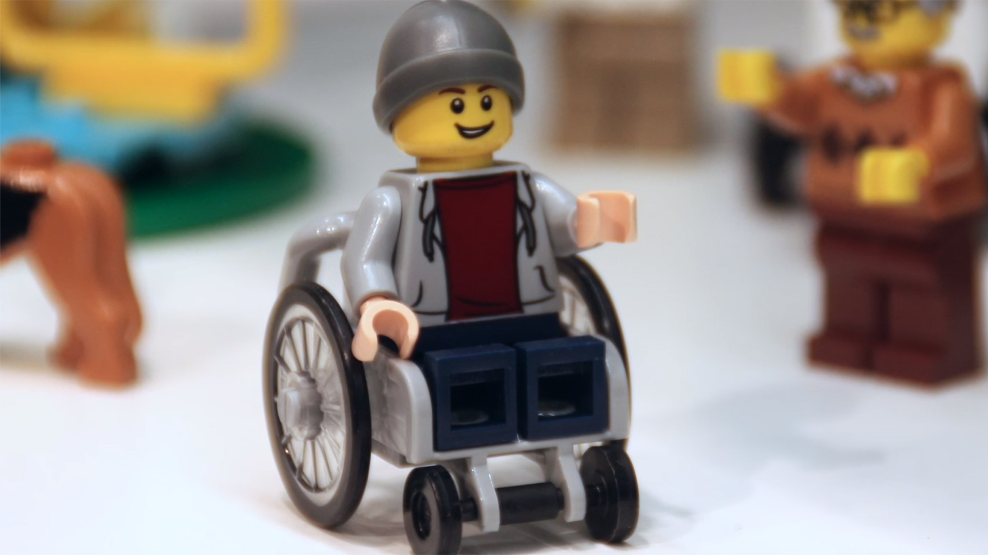 Lego Releases Minifigure That Uses A Wheelchair Today Com