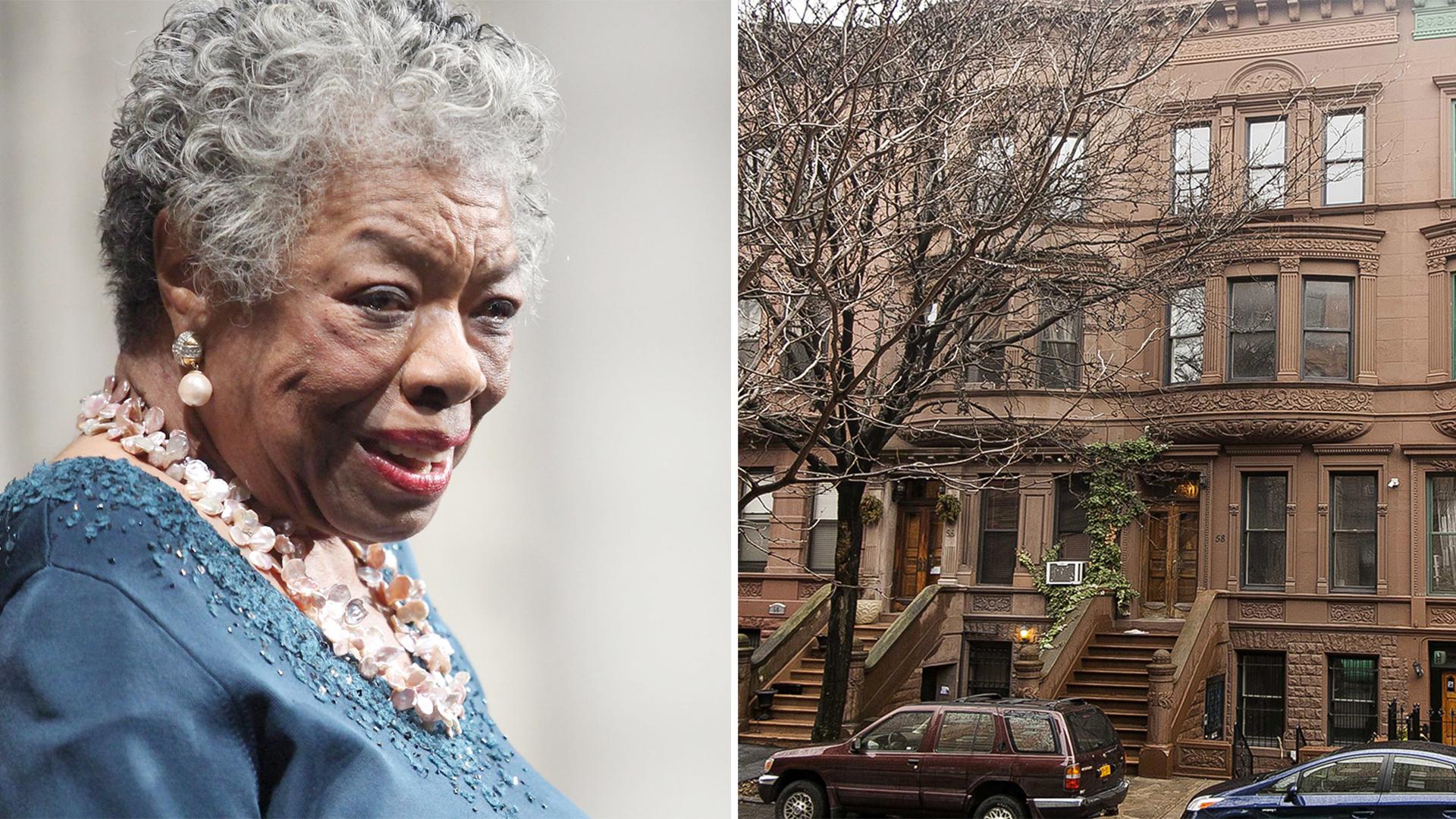 Maya Angelou S Harlem Home Is For Sale Look Inside