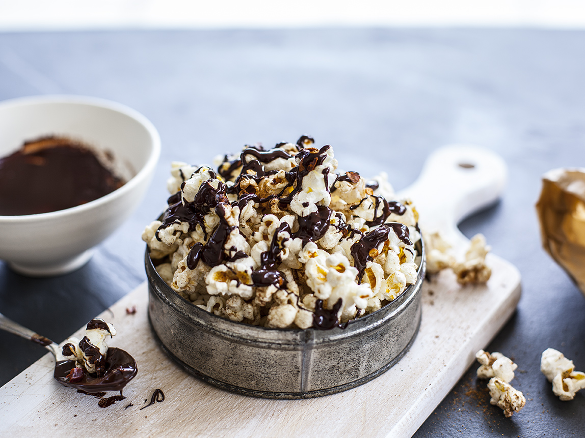 How to make homemade pop corn