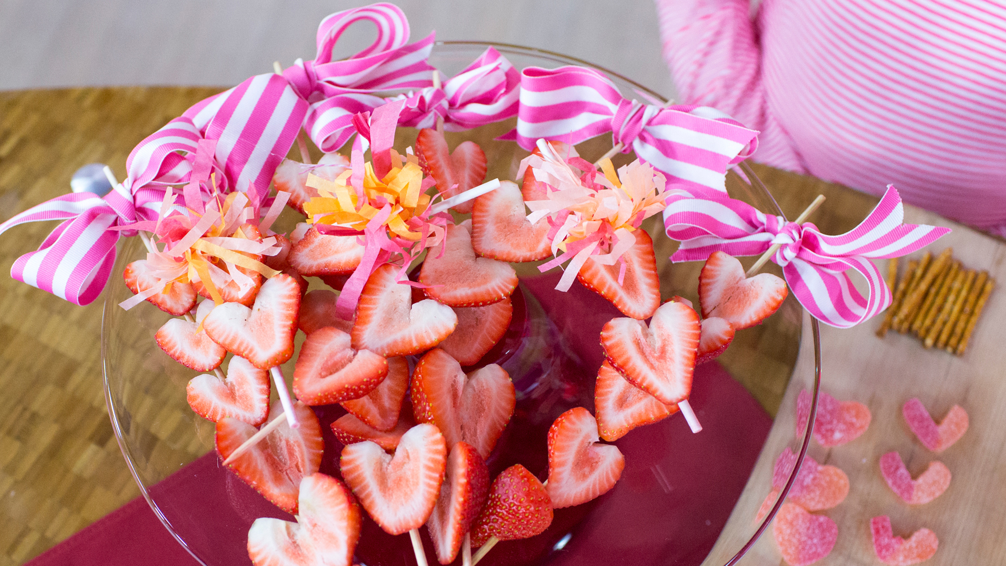 strawberry heart skewers todaycom