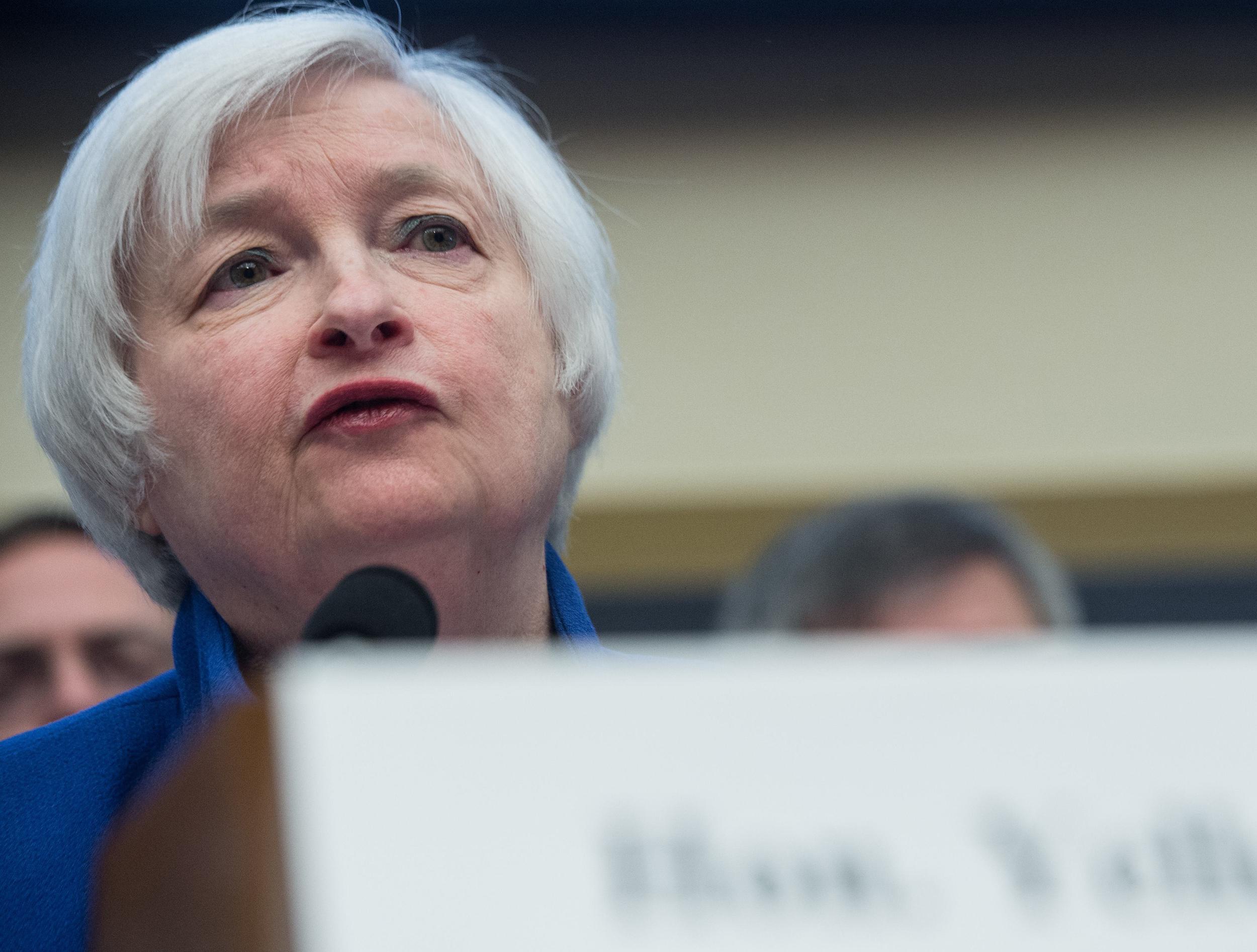 Image: US-ECONOMY-BANK-RATE-MARKET