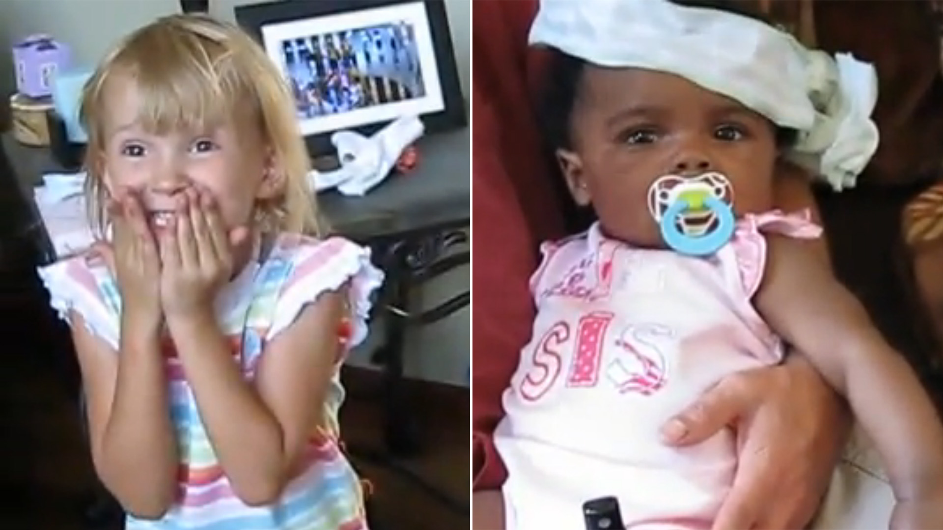 Daughter Gives Heartfelt Reaction To Sibling Adoption News