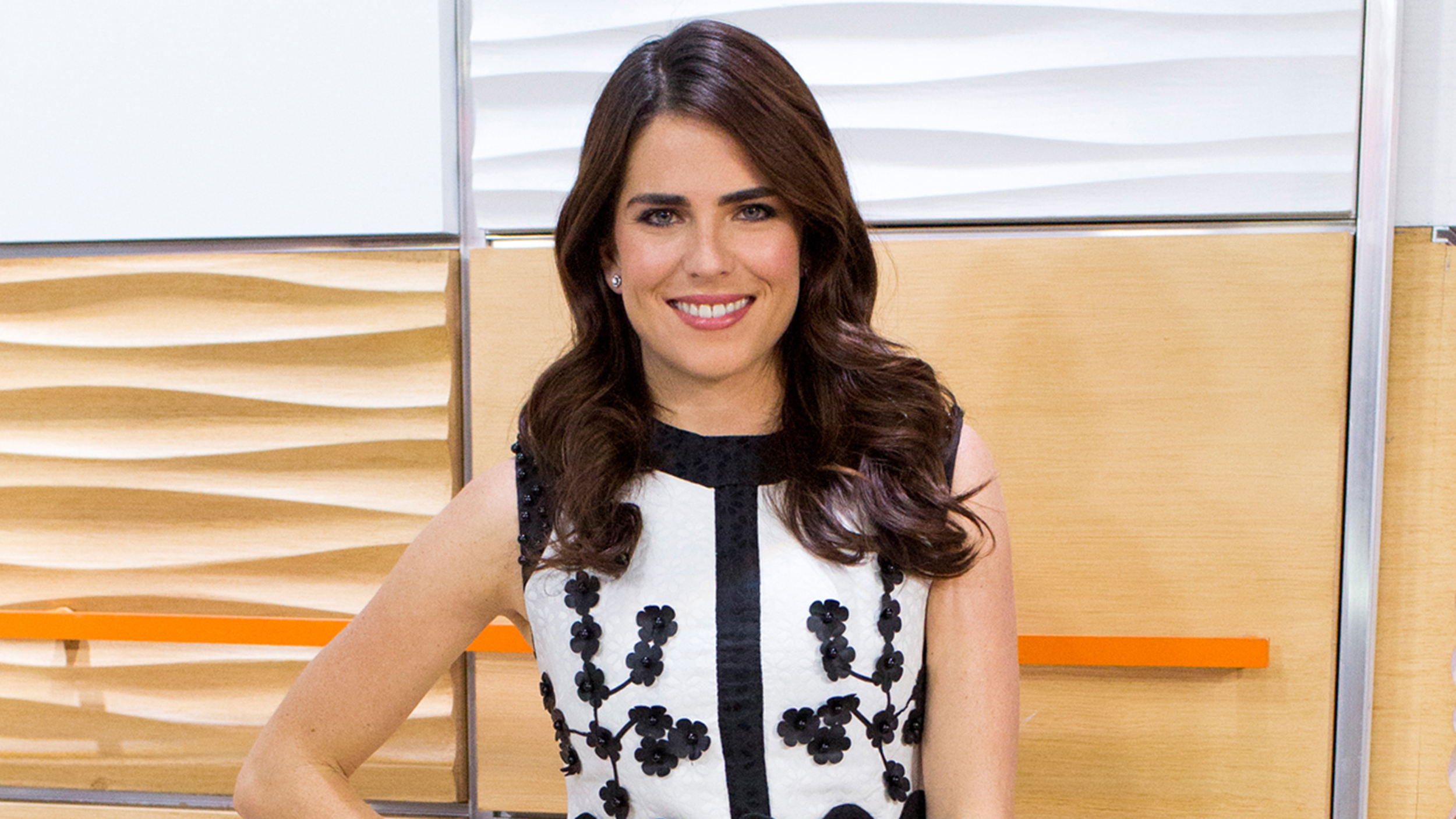 Karla Souza: Actress makes a stylish appearance on TODAY ...