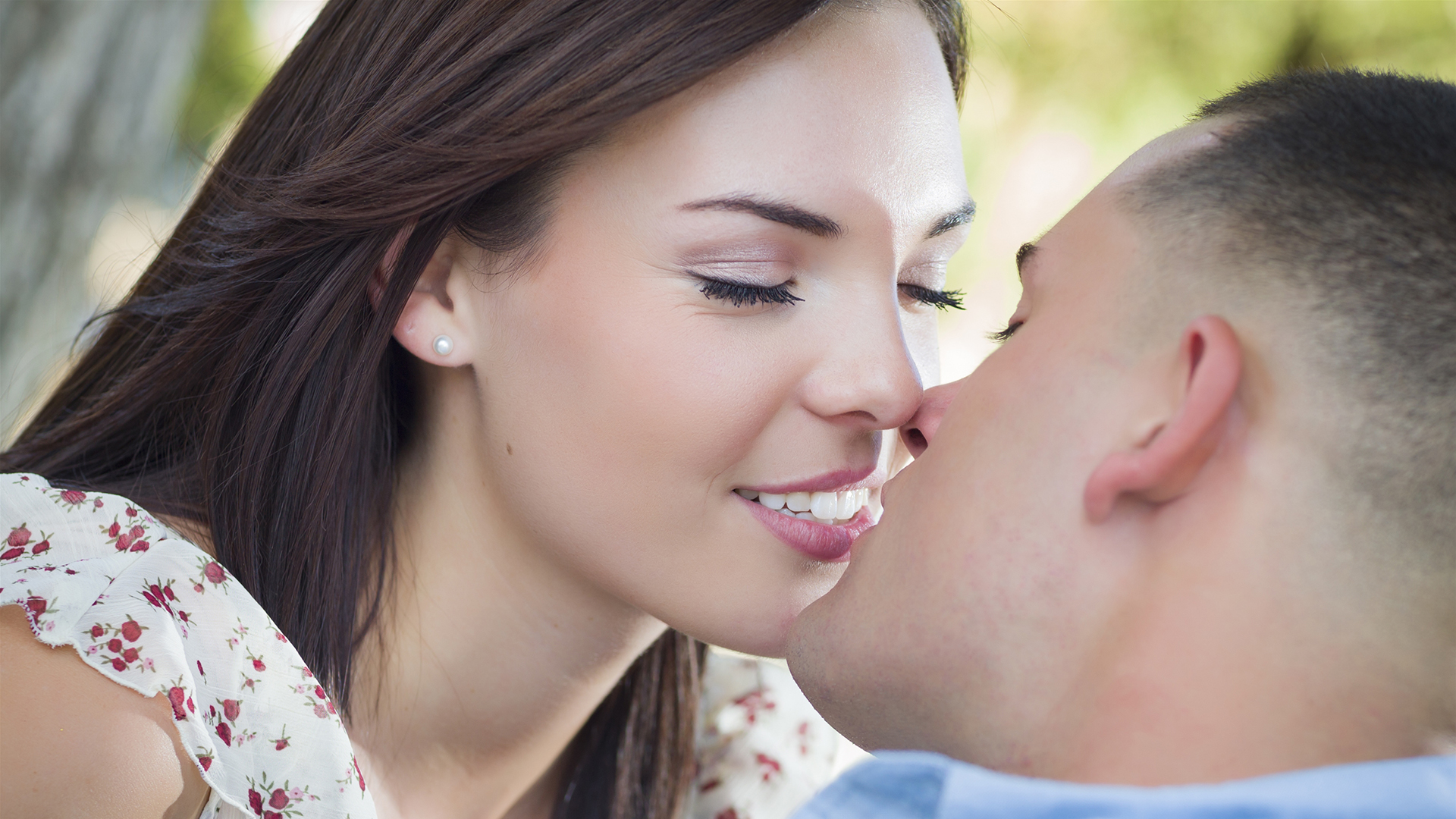 Why do we kiss with our lips