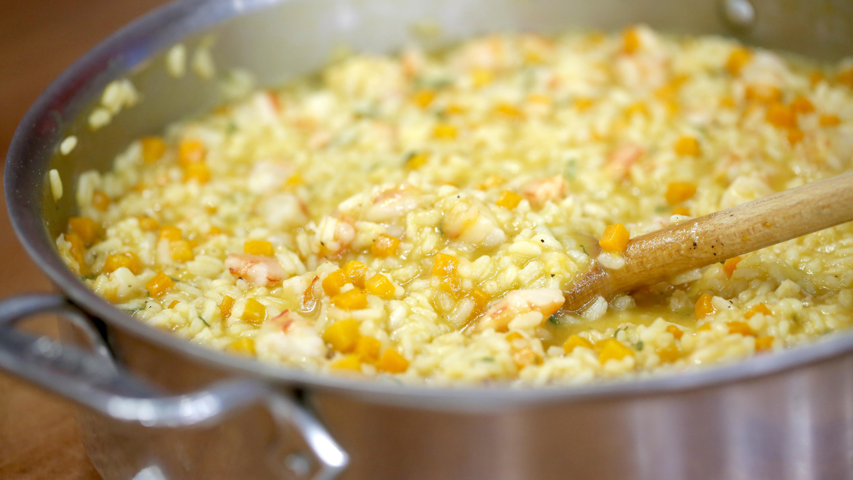Butternut Squash And Scallion Risotto Recipes — Dishmaps