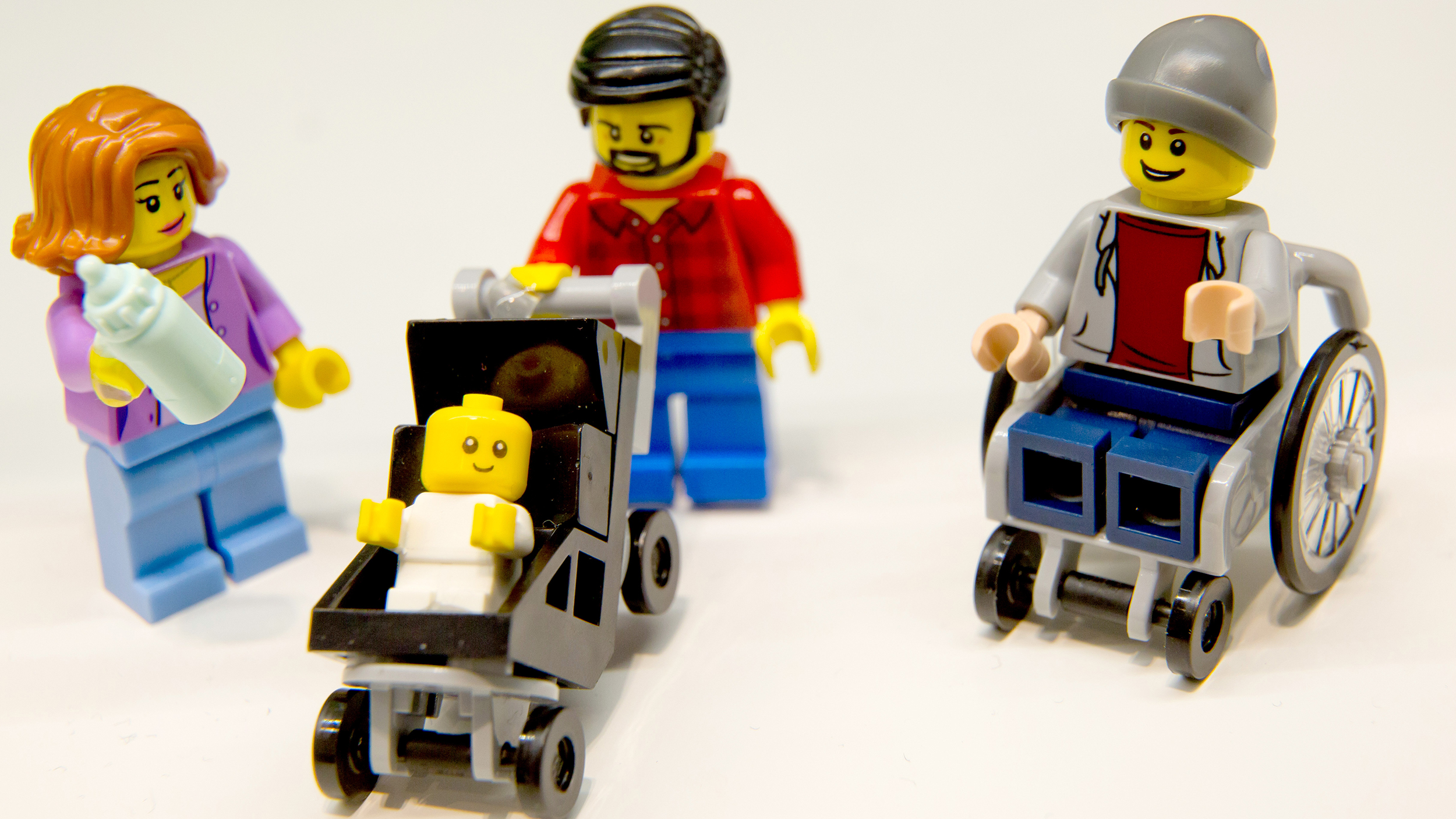 New Lego set features stay-at-home dad and working mom