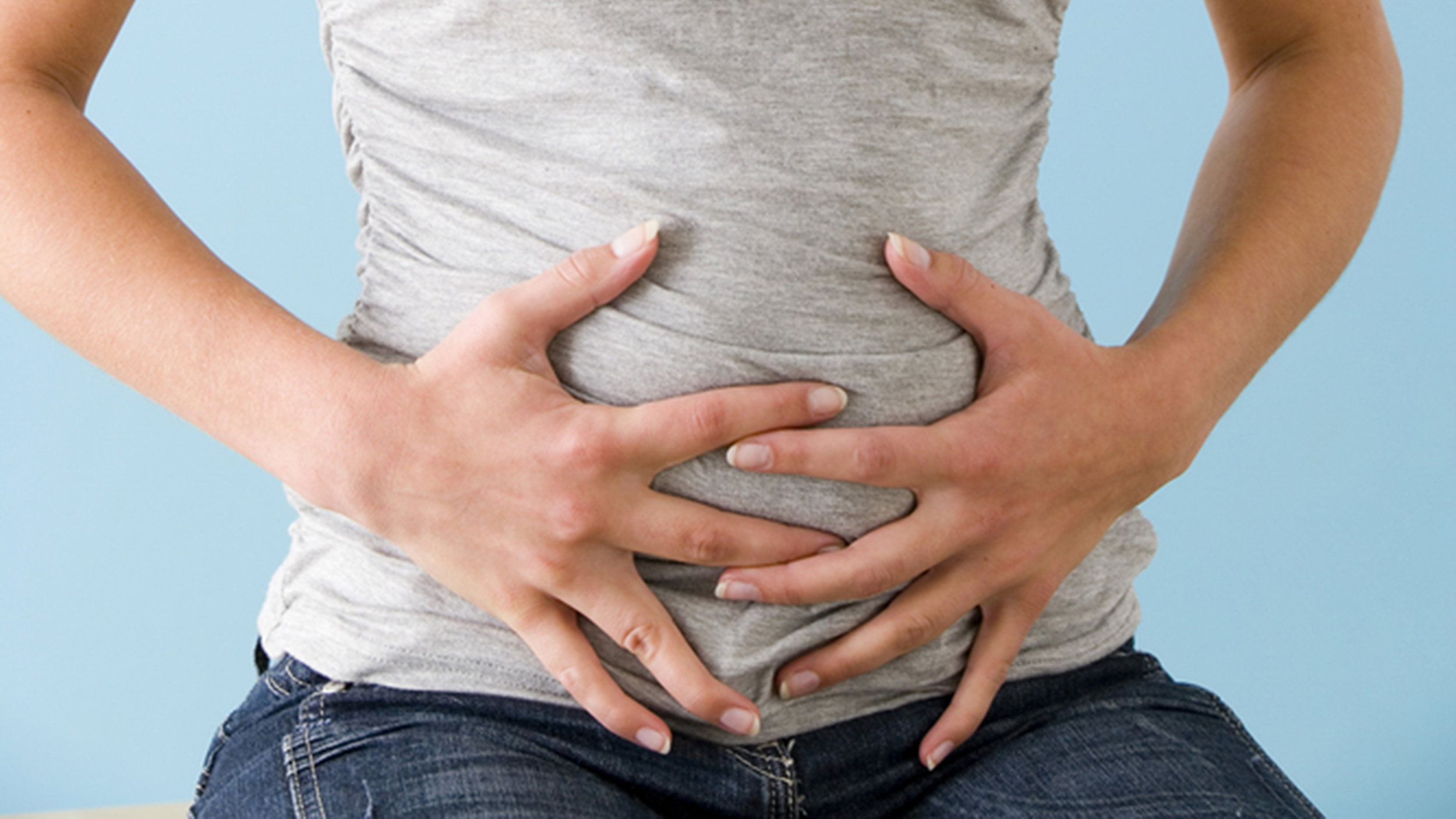 Stomach sharp pain in upper right abdomen and back female version