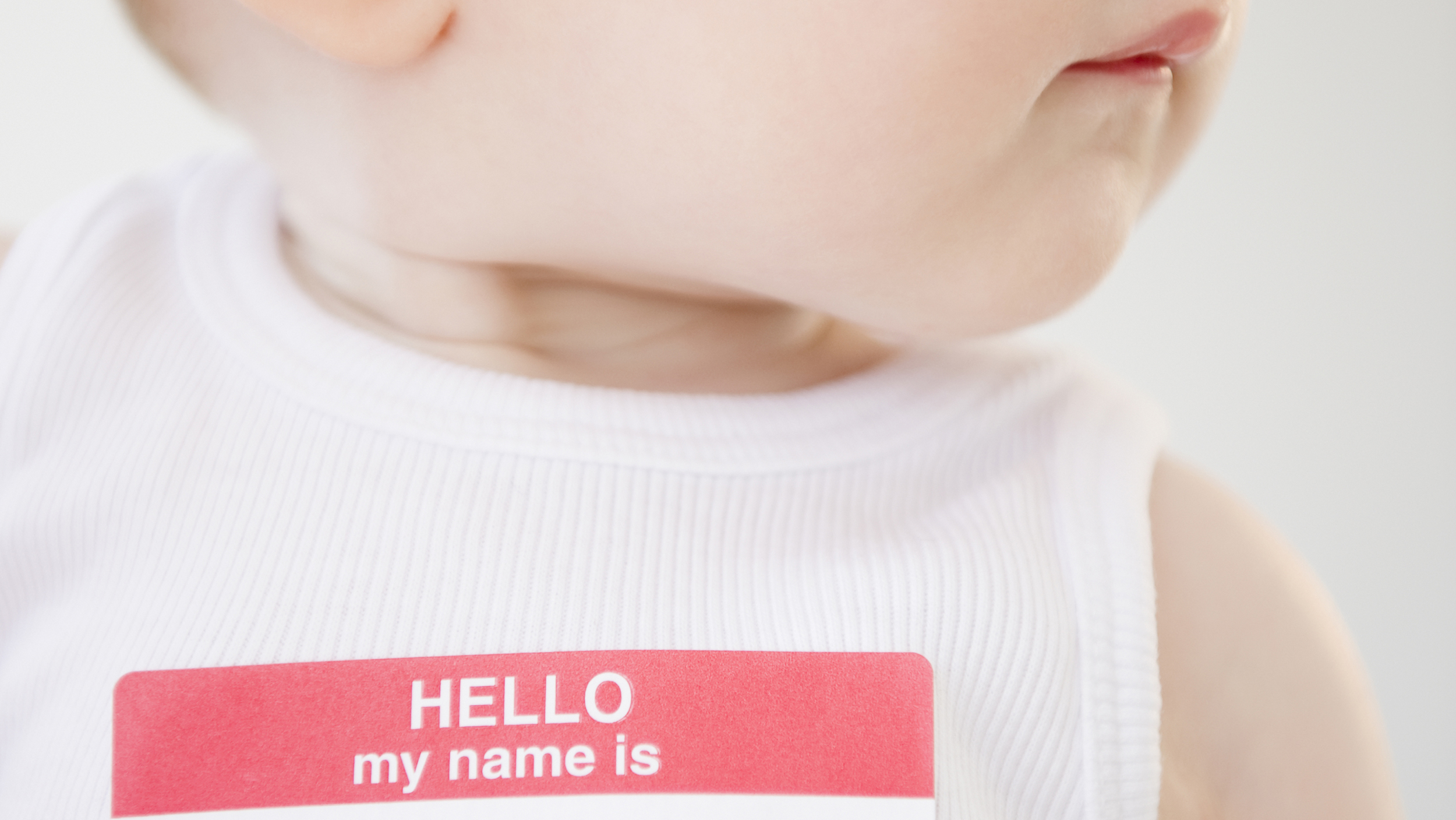 How can you name a child