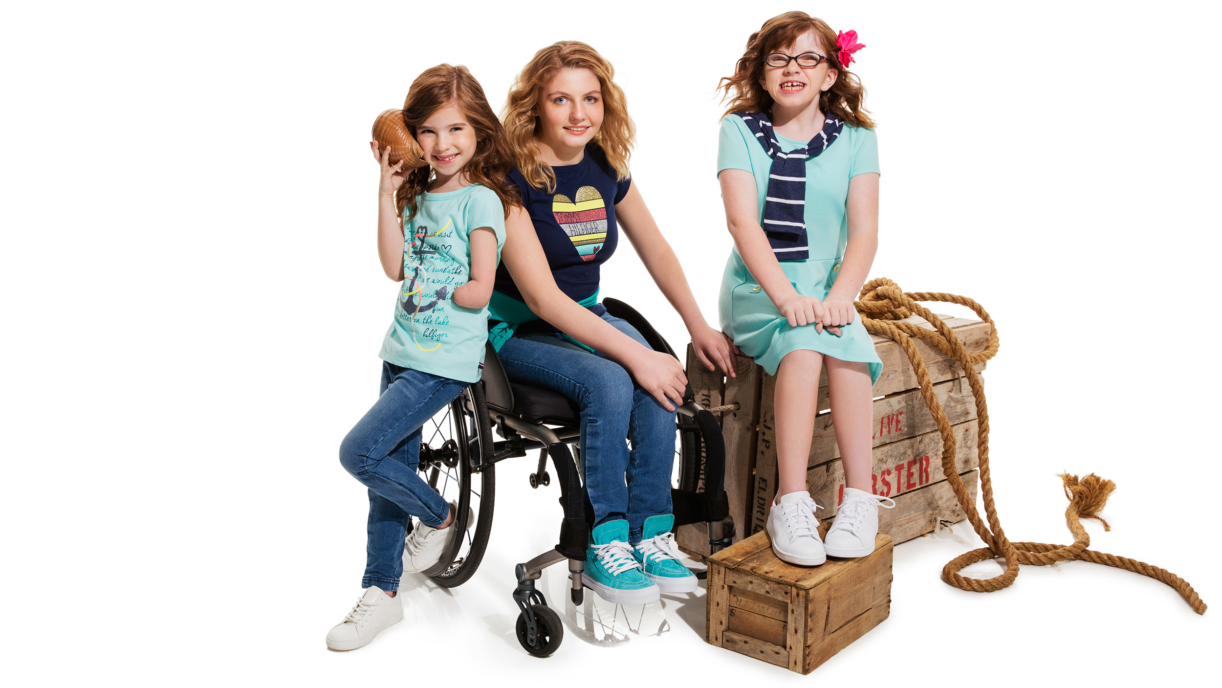 Tommy Hilfiger launches 'inclusive' clothing line for kids ...