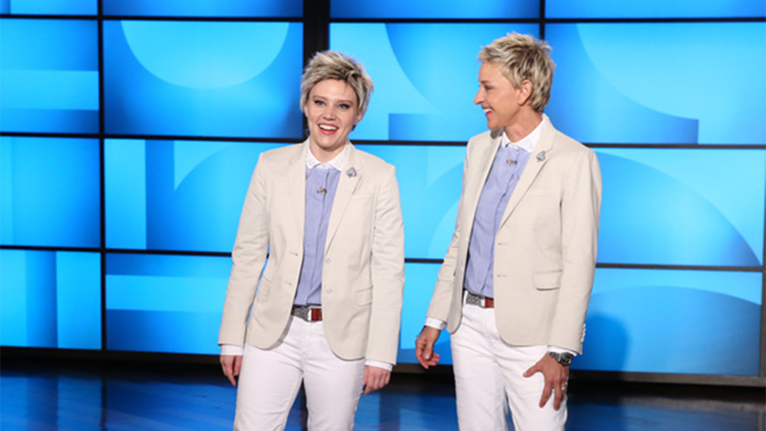 Kate mckinnon brings her ellen degeneres to 39 ellen 39 watch the clip - Ellen show videos ...