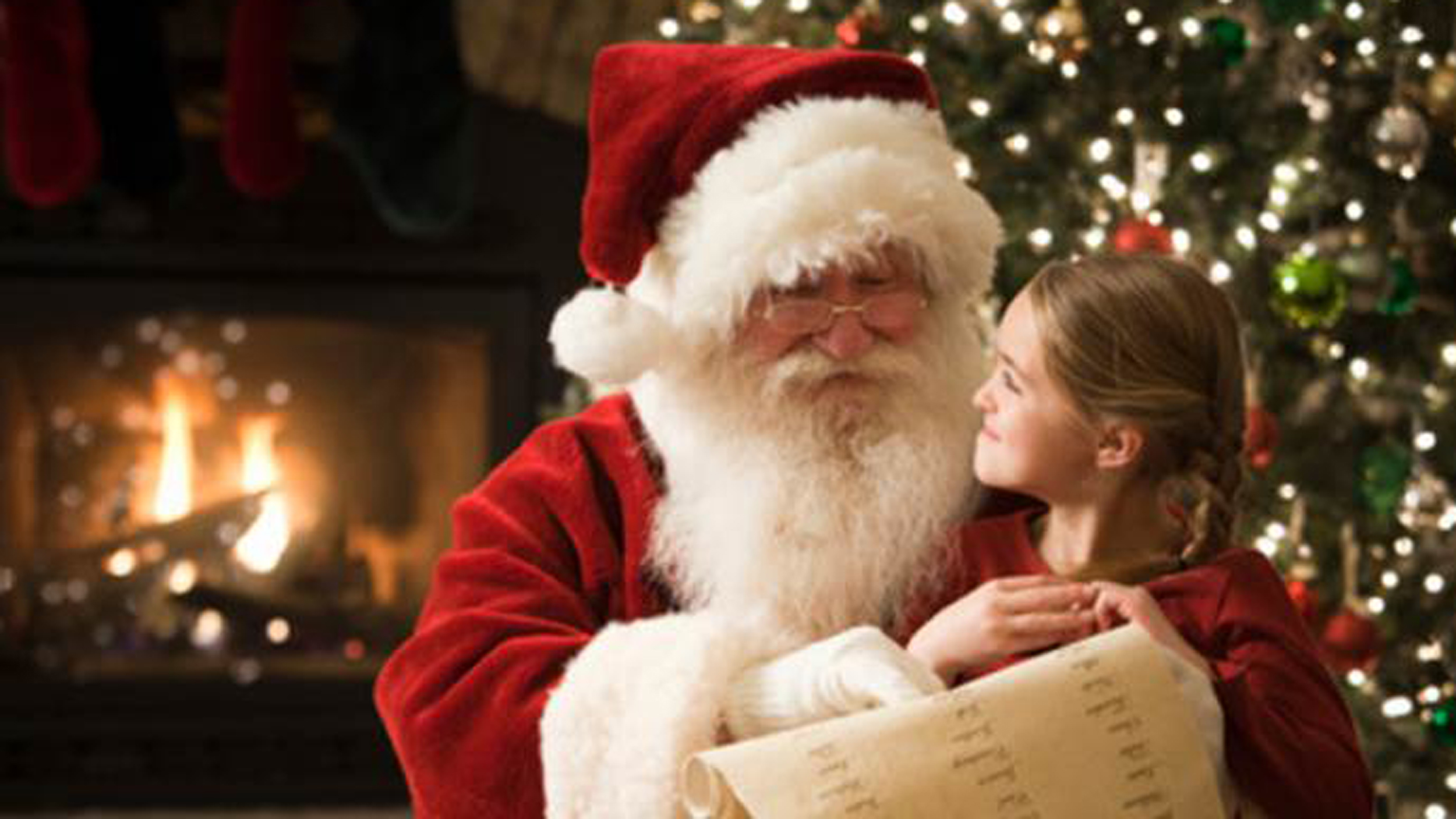 the great santa debate what to tell the kids todaycom - Santa Claus Children