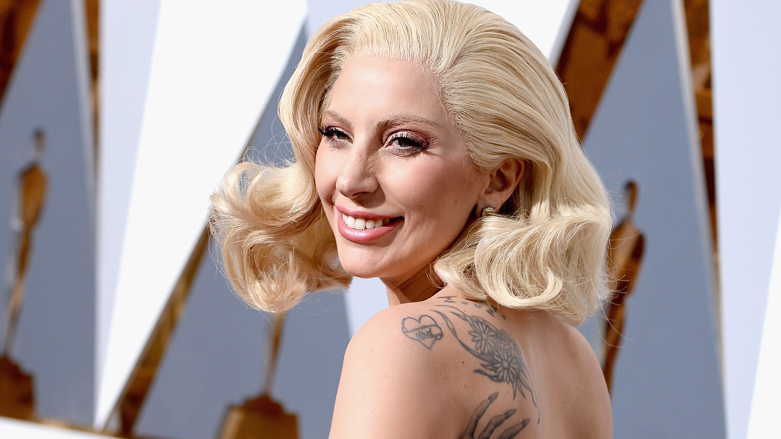 Lady Gaga Gets Inked In Solidarity With Sexual Assault
