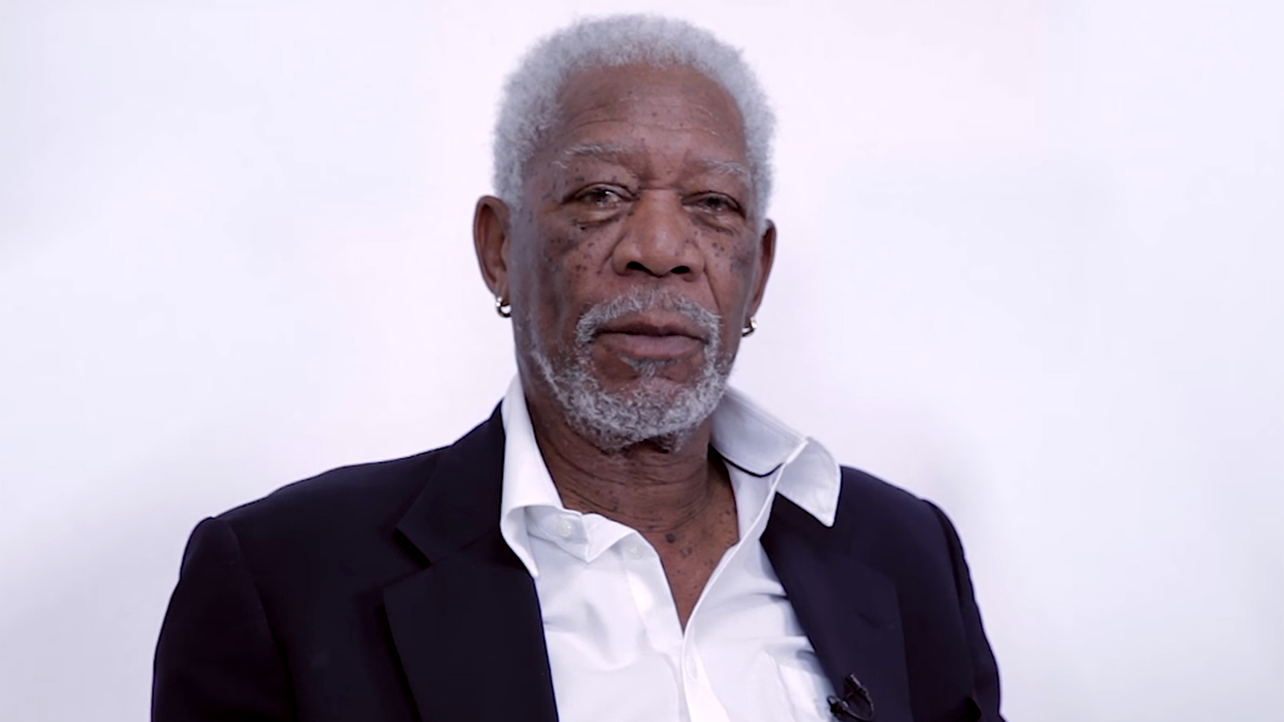 Morgan Freeman's dramatic reading of a Justin Bieber song is