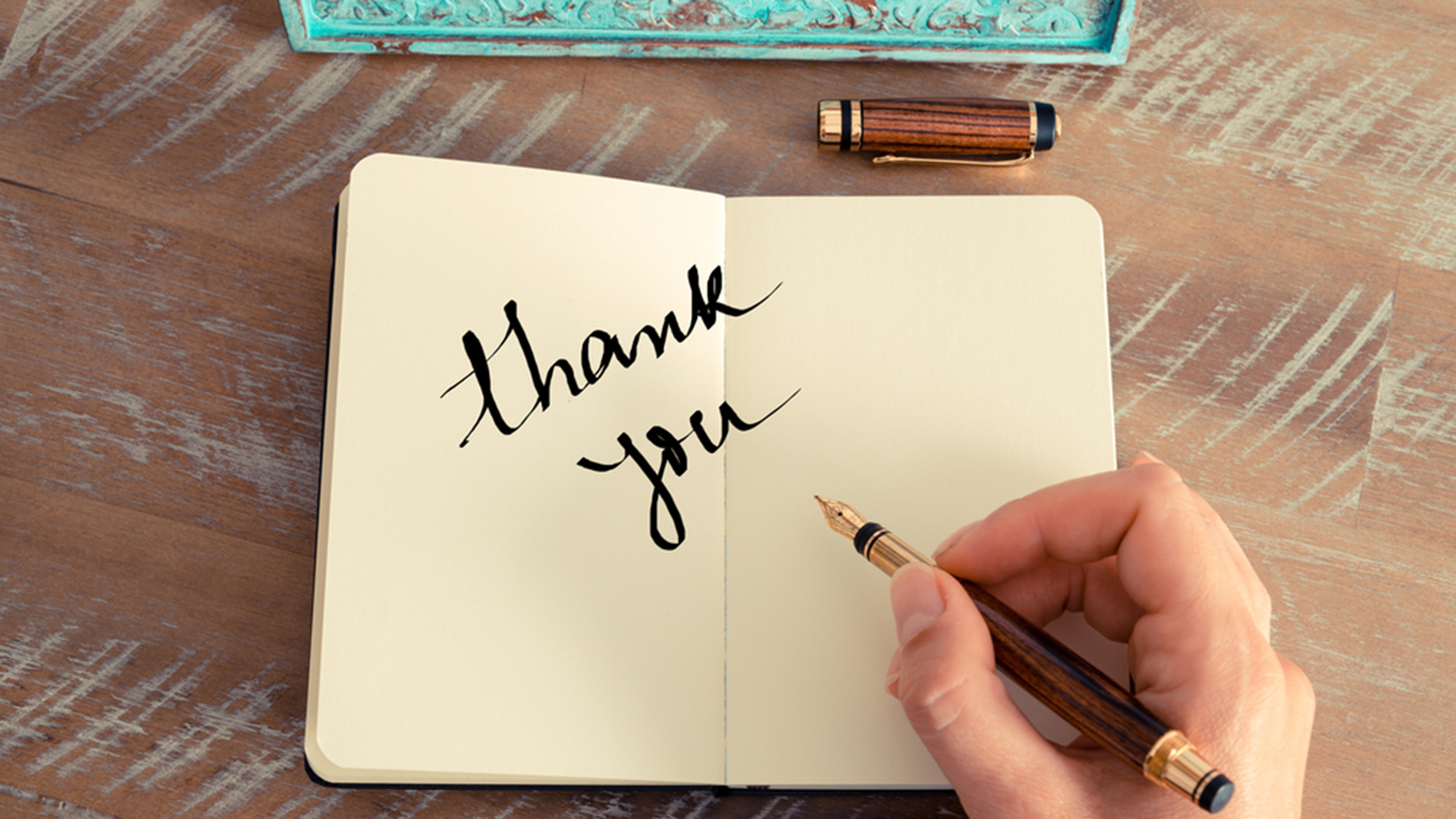 Right Ways To Say Thank You In A Note