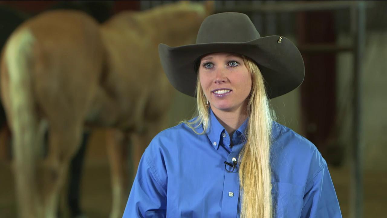 Rodeo Champion Amberley Snyder Back In The Saddle After