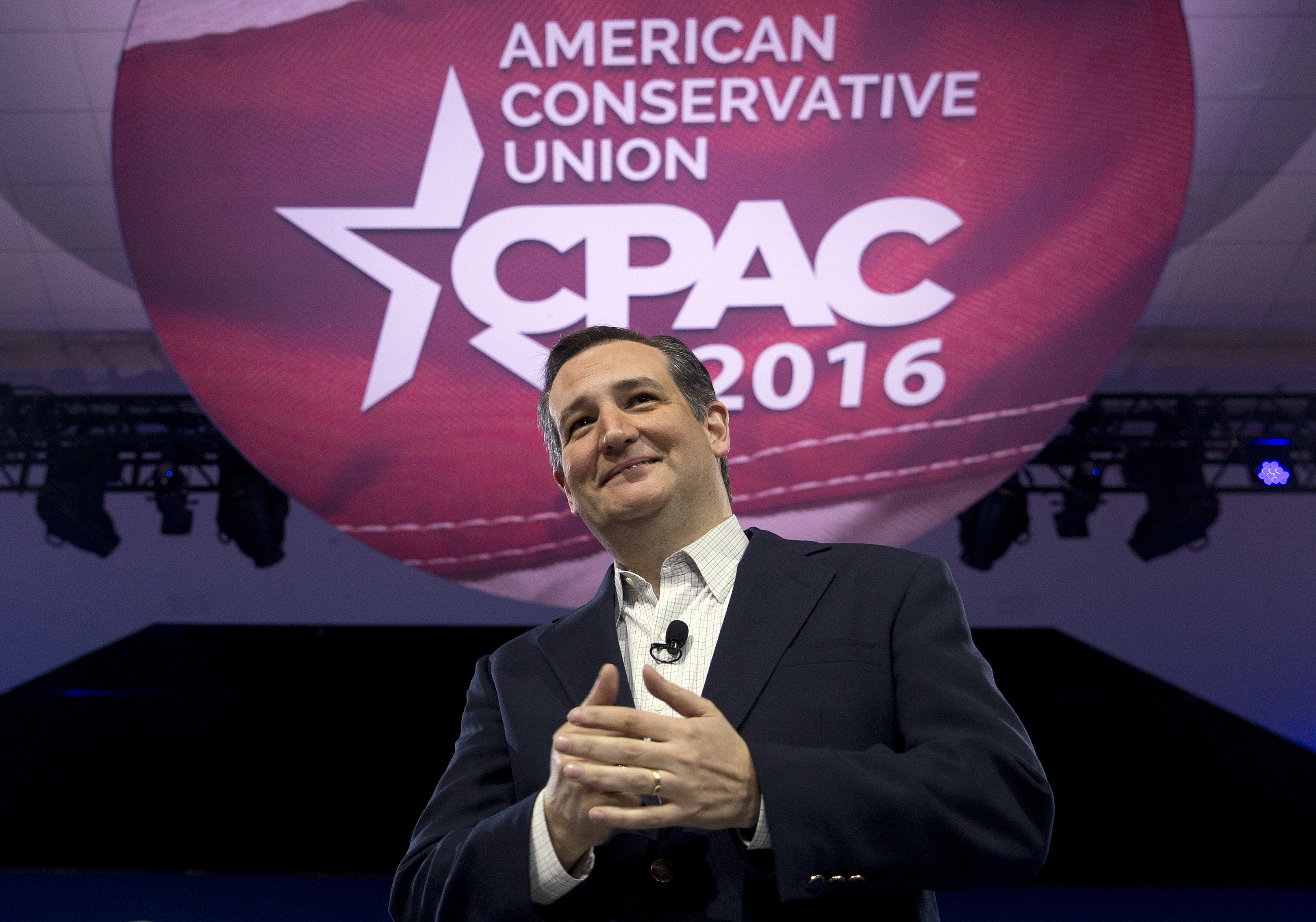 Ted Cruz At Cpac