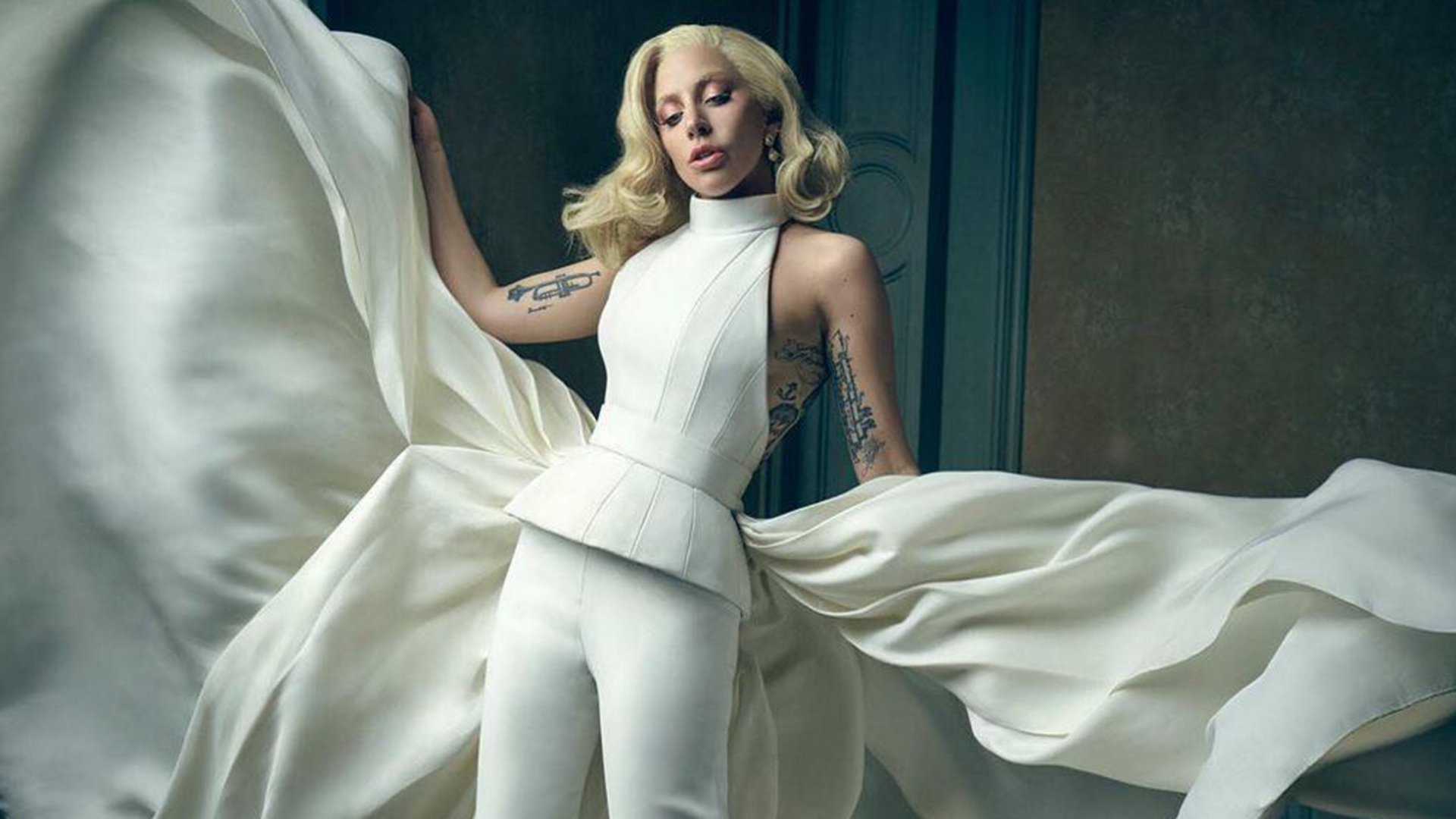 Lady Gaga Justin Timberlake Grace Vanity Fair S Oscar Series