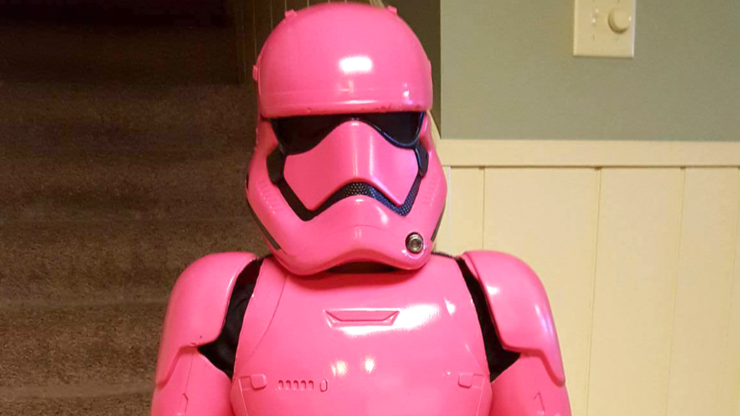Meet The Pink Stormtrooper Dad Designs Star Wars
