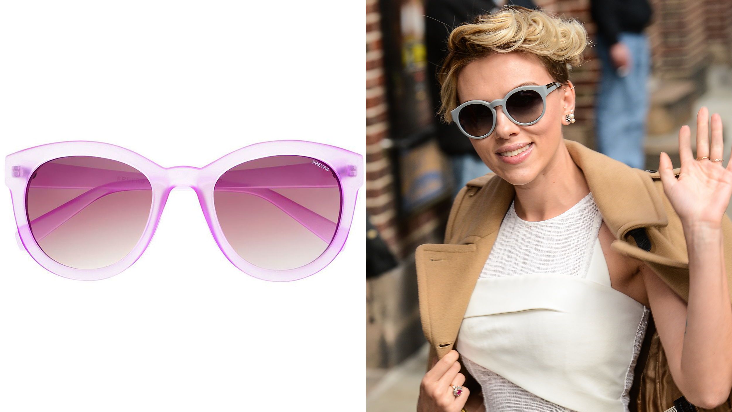 Sunglasses trends at affordable prices: Cat eye, round ...