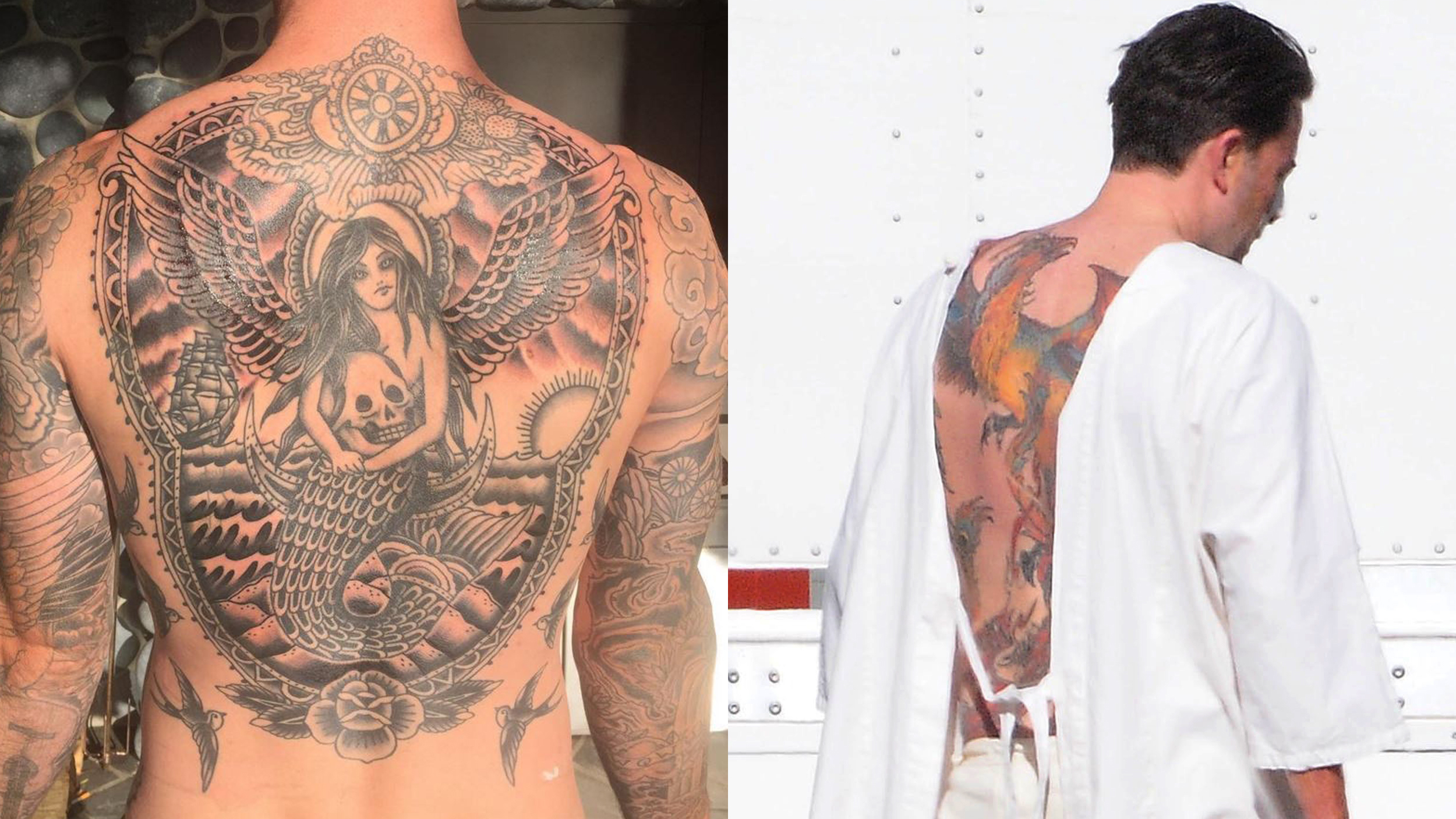 32292c21ec6dd Leave Ben and Adam alone: A case for the male back tattoo