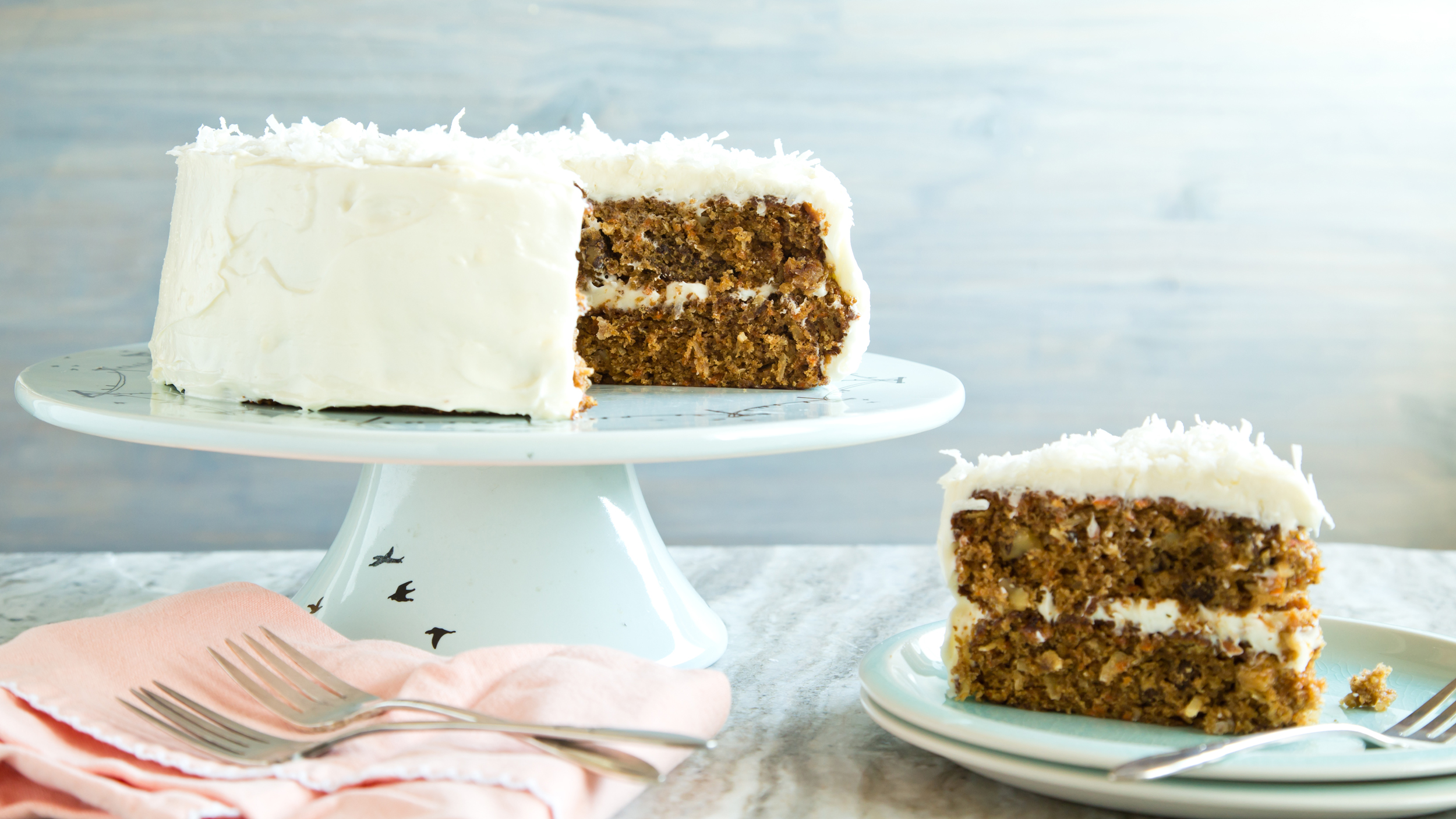 Classic Carrot Cake With Cream Cheese Frosting Today Com