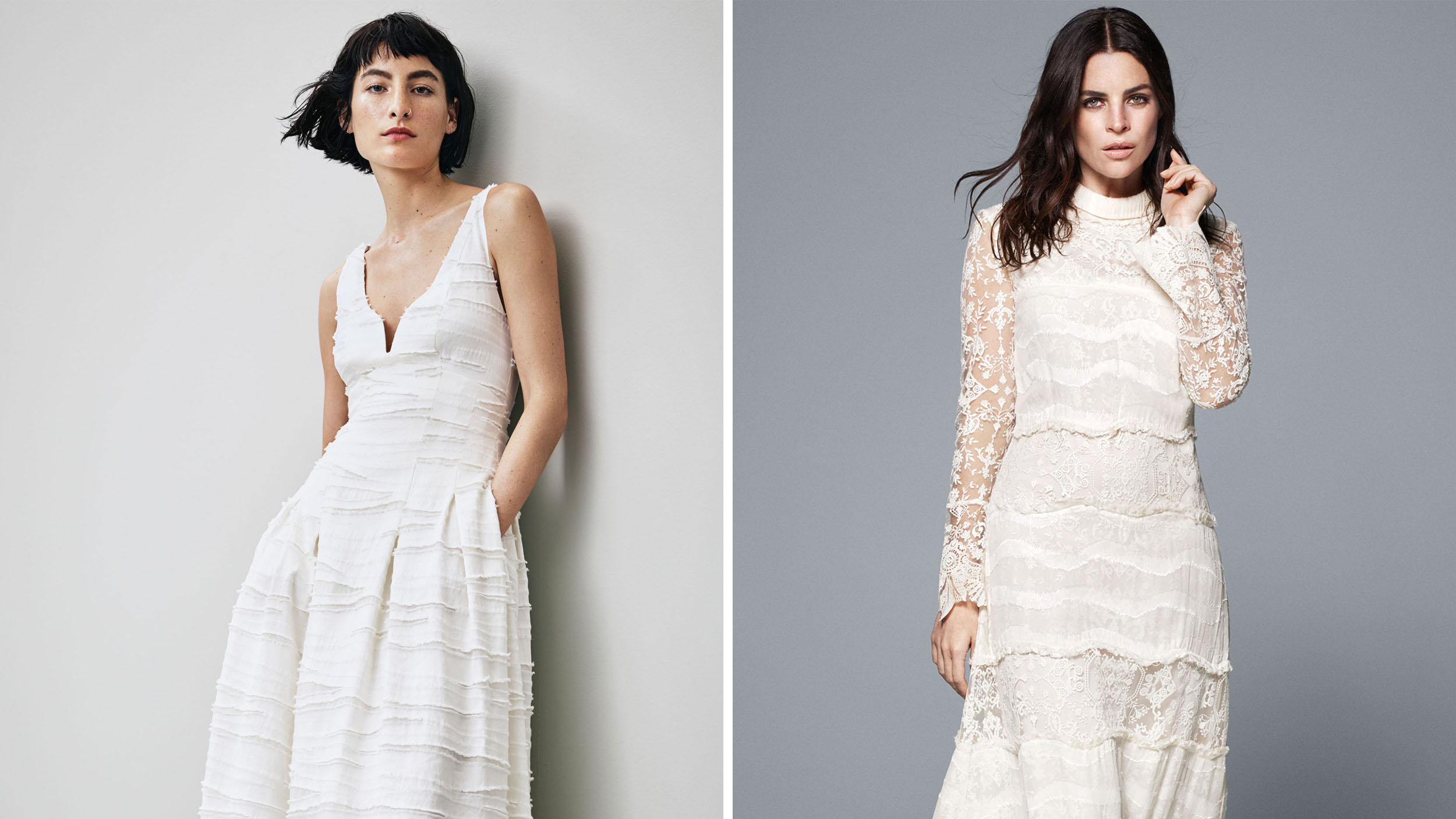 H M New Conscious Collection Features Affordable And Sustainable Wedding Dresses