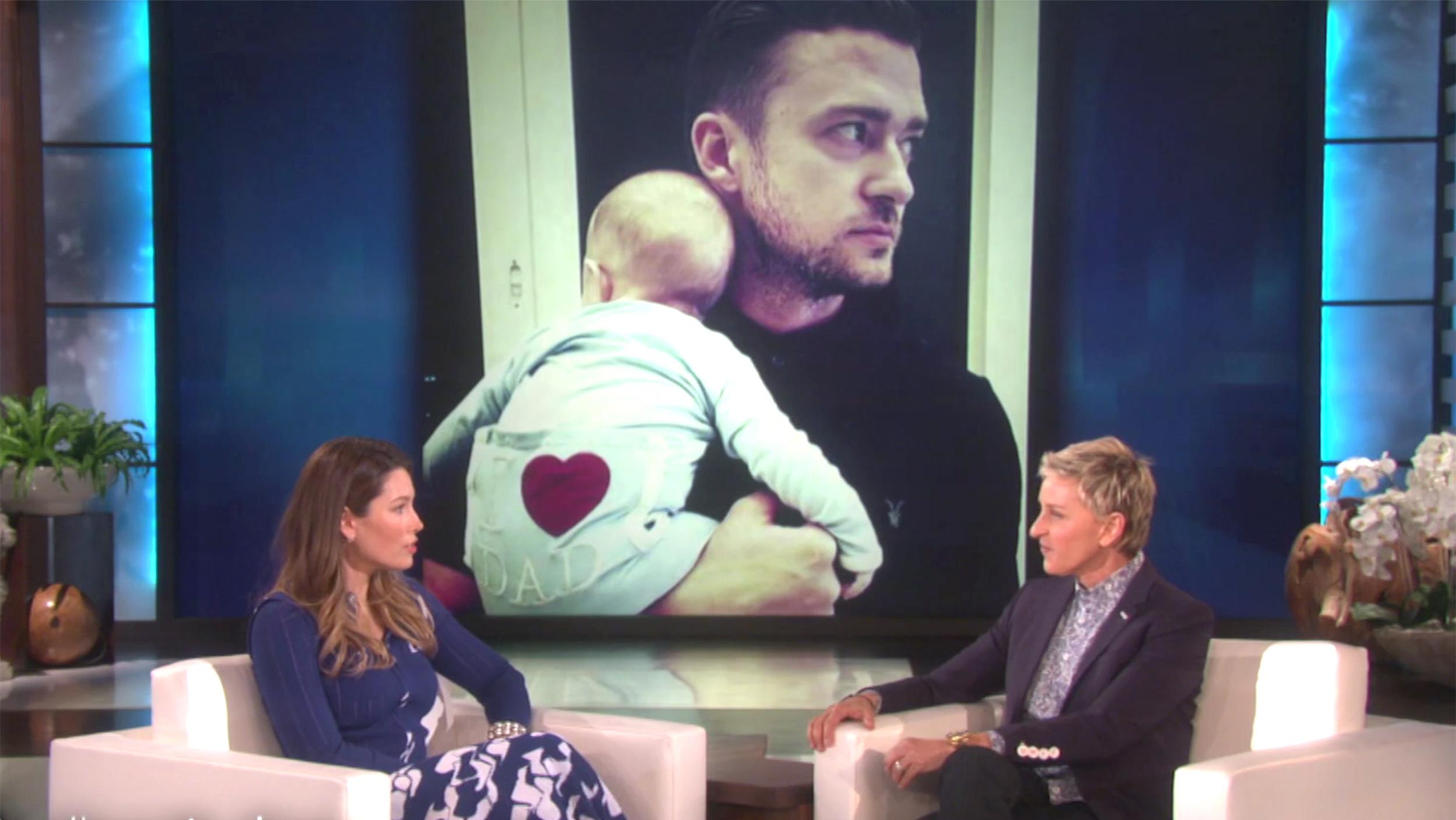 Jessica Biel talks pre... Jessica Biel Baby