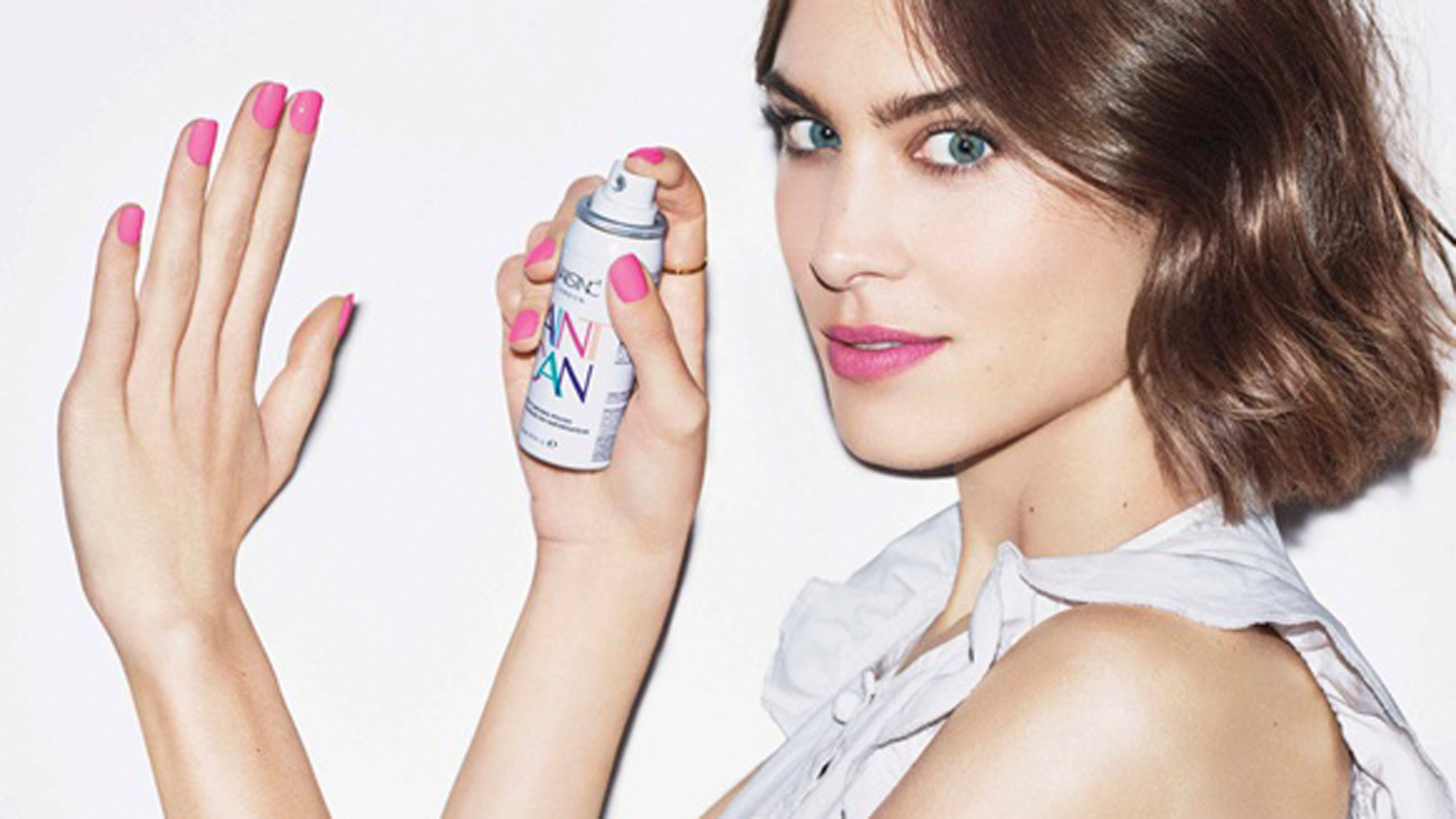 Inverse hair conditioning iron, spray-on nail polish & more wacky trends