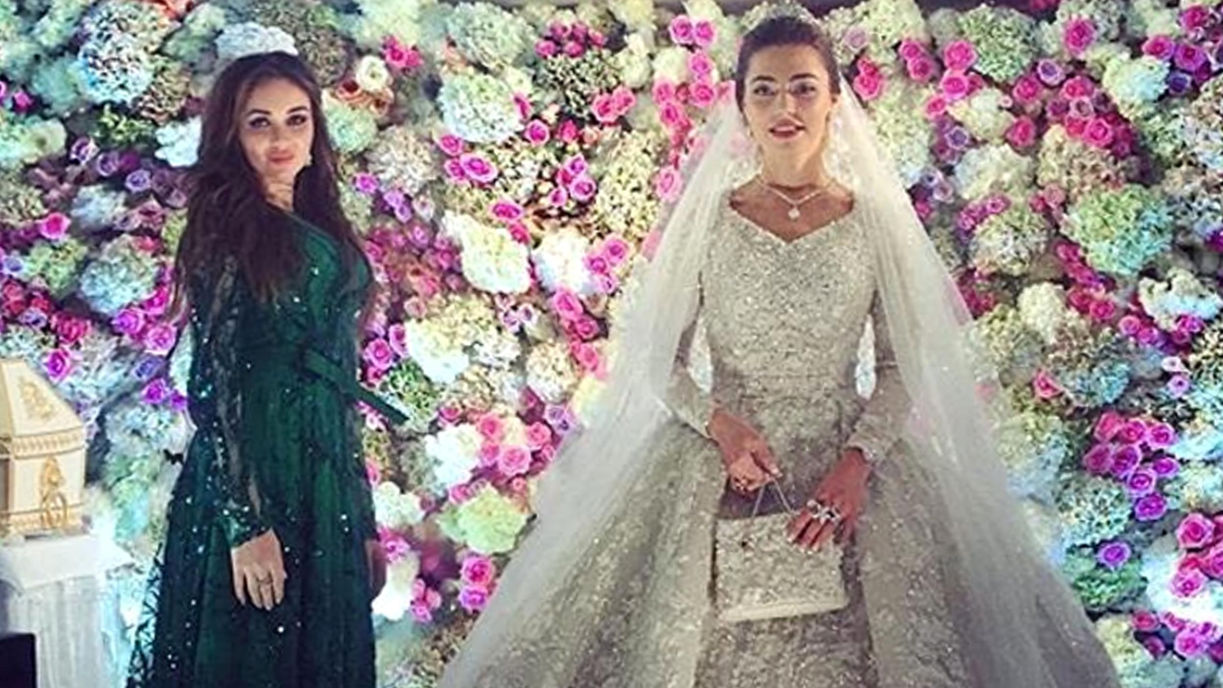Свадьба хадижа ужахова и саид гуцериев фото