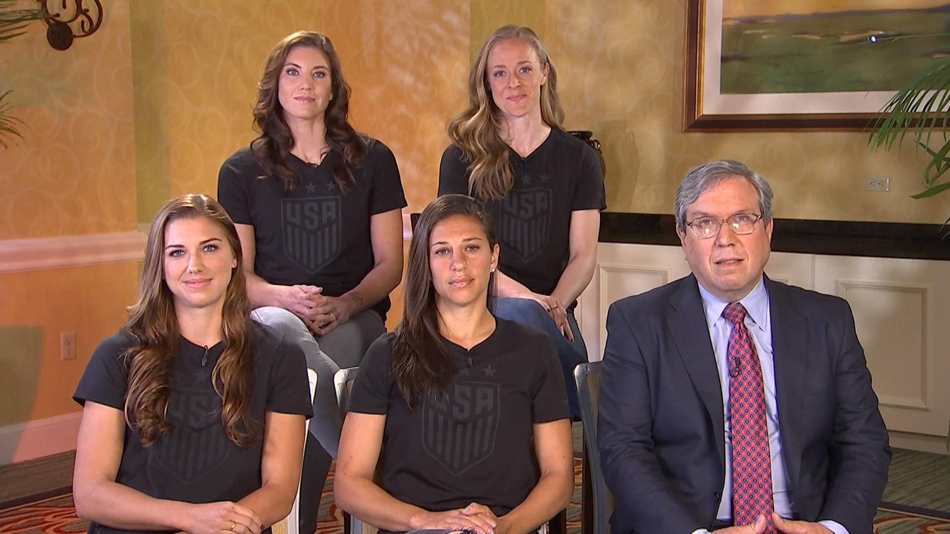 U S Women S Soccer Stars On Filing Equal Pay Complaint We Ve