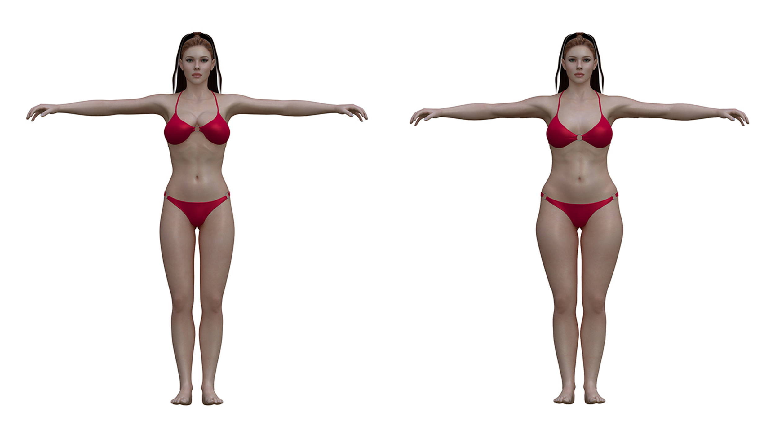 Ideal to real: What the 'perfect' body really looks like ...