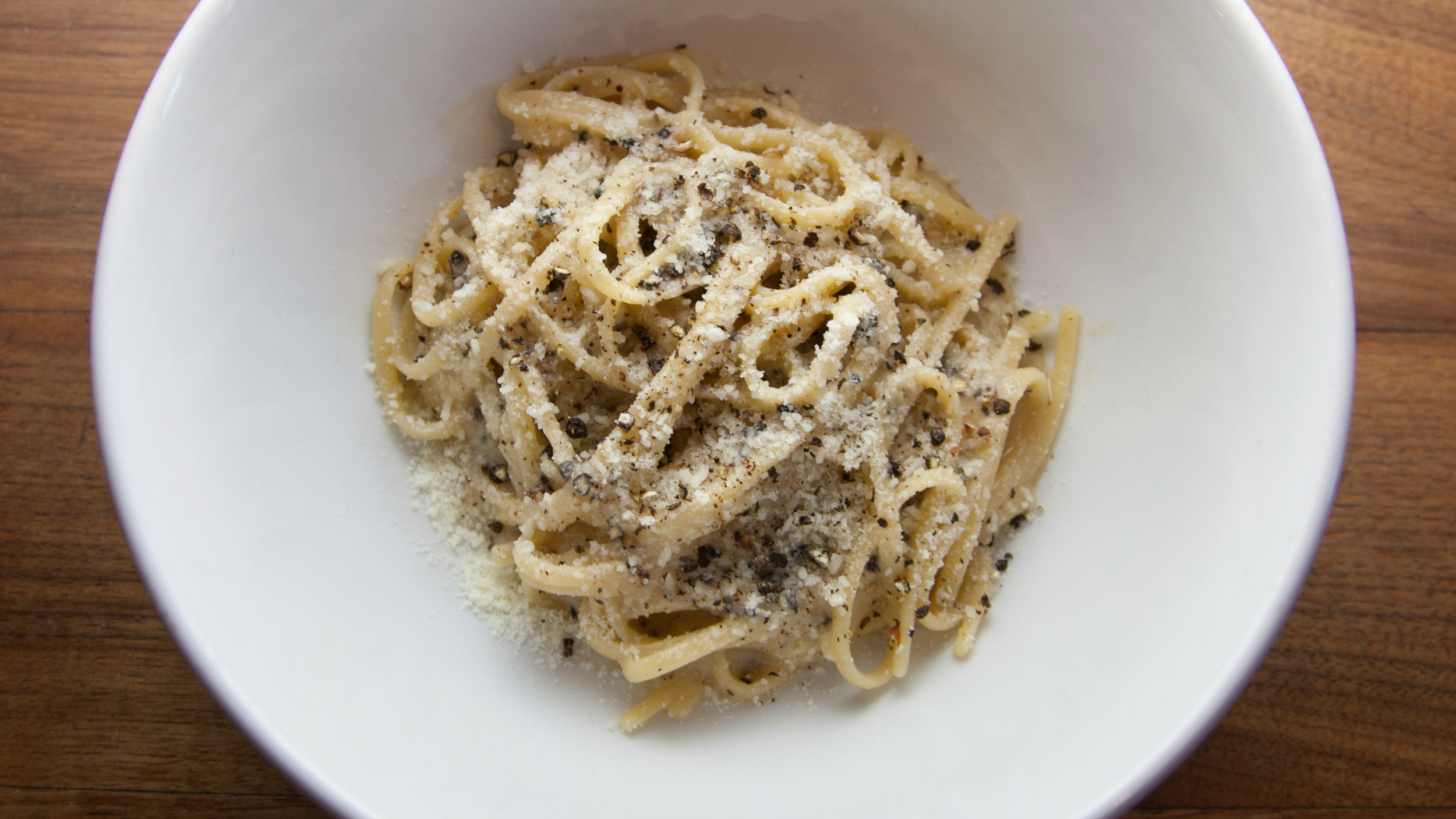 Italian black pepper pasta recipe