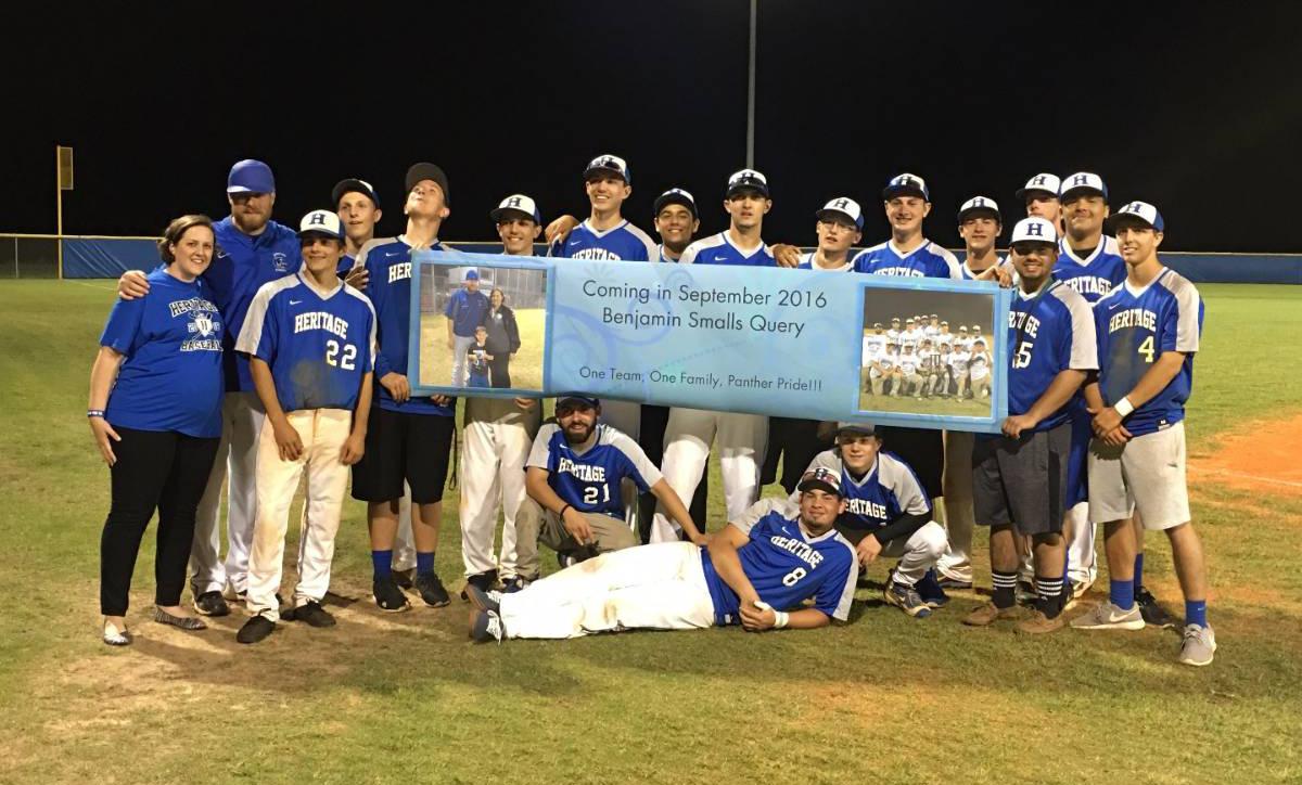 High School Baseball Team Names Coach S Baby After Winning