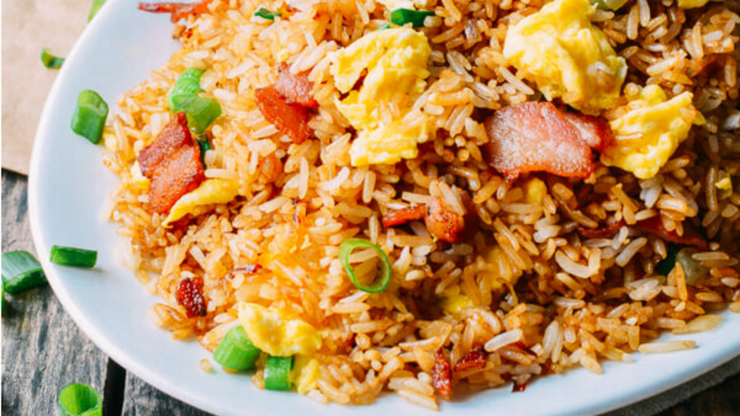Takeout recipes at home: Make bacon and egg fried rice ...